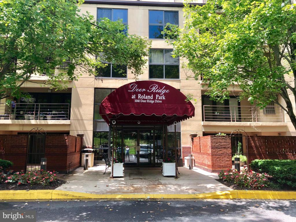 Gorgeous 2 bedroom condo in the coveted Deer Ridge community at Roland Park! Convenient to Mt. Washington, Hampden, I83, amazing shops, and restaurants! Expansive open floorplan features a cozy fireplace and tons of natural light from the French doors leading to a private balcony with city views. Bright kitchen offers a built-in microwave and dishwasher plus tons of cabinet and pantry storage space. Master suite boasts an updated full bath and customized closets while just down the hall you will find an additional updated bath and a laundry/storage closet with washer/dryer included!The Deer Ridge building is immaculately maintained with beautiful landscaping, secure video monitored entry, and a covered secure garage that is included with the rental rate.Sorry, no pets.Proof of renter~s insurance required.Application Qualifications: Minimum income of 3 times the monthly rent, no evictions or recent filings, and a clean criminal background check.
