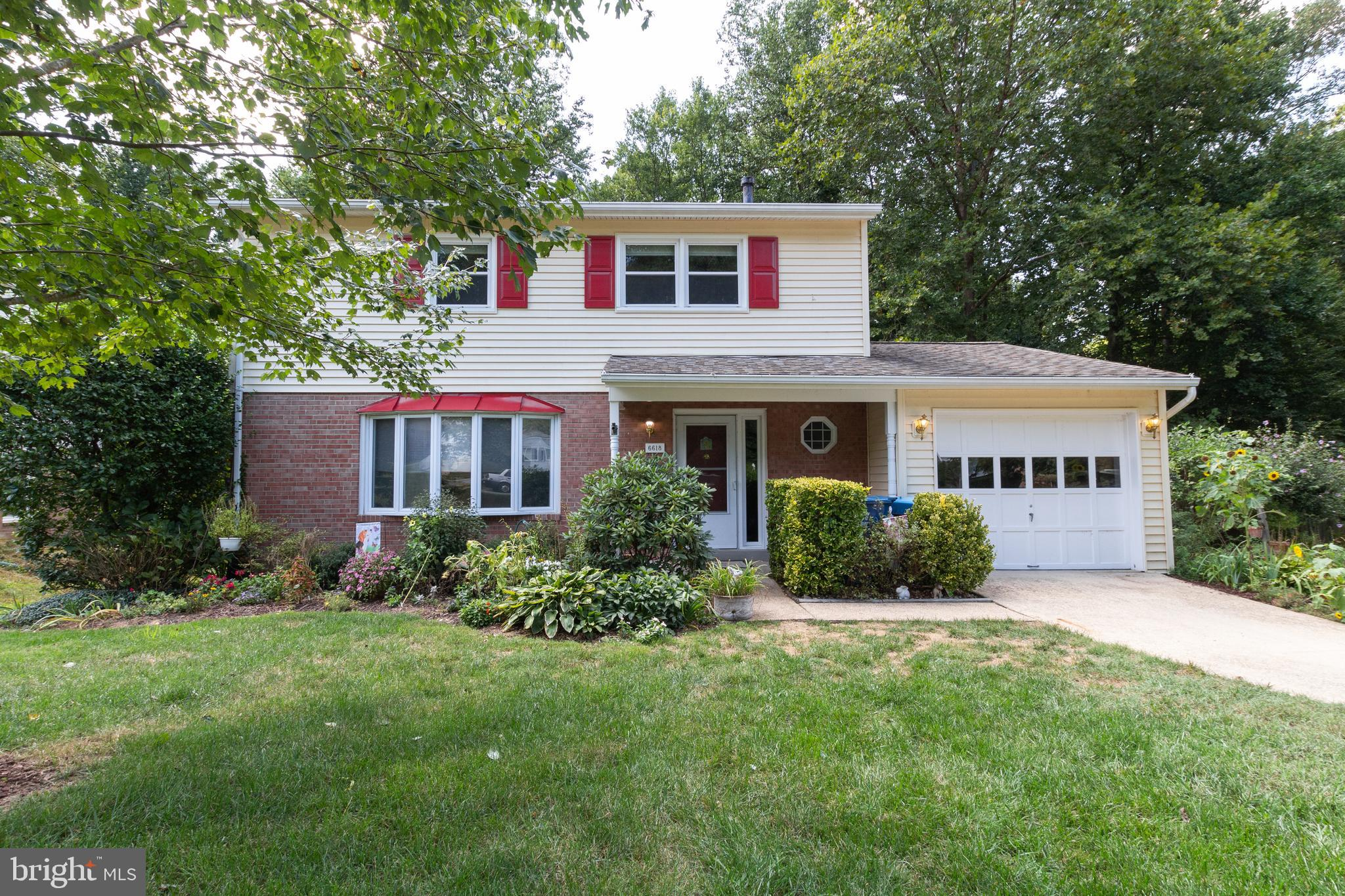 Welcome to 6618 Holford Lane, a beautiful home offering 4 bedroom, 2.55 bath with hardwoods on main & upper levels!  Not only does your spacious patio and large fenced backyard back to parkland, but you will spends hours in your gorgeous sunroom.  For convenience, your one car-garage leads directly into the kitchen next to your main level laundry room. With a large sunlight living room, a charming dining room and roomy kitchen, the crew can spread out on this main level or wander down to the oversized finished basement containing an updated half bath, new flooring and walkout level access.  Upstairs you will note the addition of the professionally designed walk-in closet and two updated bathrooms.  Direct access to Fairfax County Parkway, Franconia-Springfield Parkway, I-95, I-395, and I-495.