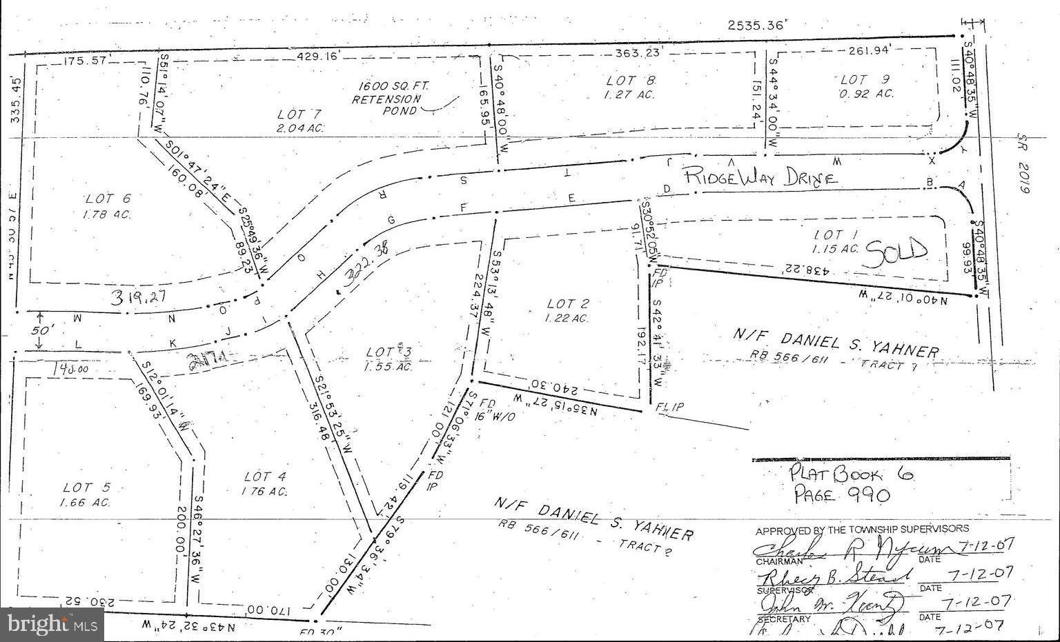Lot #3 RIDGE WAY DRIVE, EVERETT, PA 15537