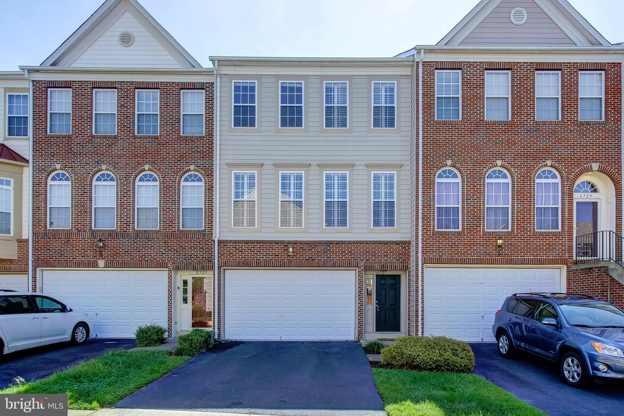 """***** NEWLY LISTED! - OPEN SUN. 9/22 FROM 3:00 - 5:00 PM. ***** WELCOME HOME TO 6727 APPLEMINT LANE, - - located in the Autumn Chase Hunt Kingstowne area!  This beautifully renovated townhome is in picture perfect move-in-condition, featuring 3 Finished Levels, 3 Bedrooms , 3 Full and 1 Half Baths, Gas Fireplace, 2-Car Garage plus 2-Car Driveway, and finished lower level with walk-out to rear yard.  Premium area and neighborhood location, ---backing to common and wooded area with no other homes behind you!  Exceptionally spacious home with open floor plan, generous room sizes with 9-FOOT CEILINGS ON ALL 3 LEVELS, and nice flow throughout. Beautifully updated, including kitchen and baths, and many nice custom details throughout for today's value conscious home buyer! ***** SEE VIRTUAL TOUR LINK FOR """"INTERACTIVE"""" FLOOR PLAN! ***** All information deemed reliable but not guaranteed with room dimensions approximate."""