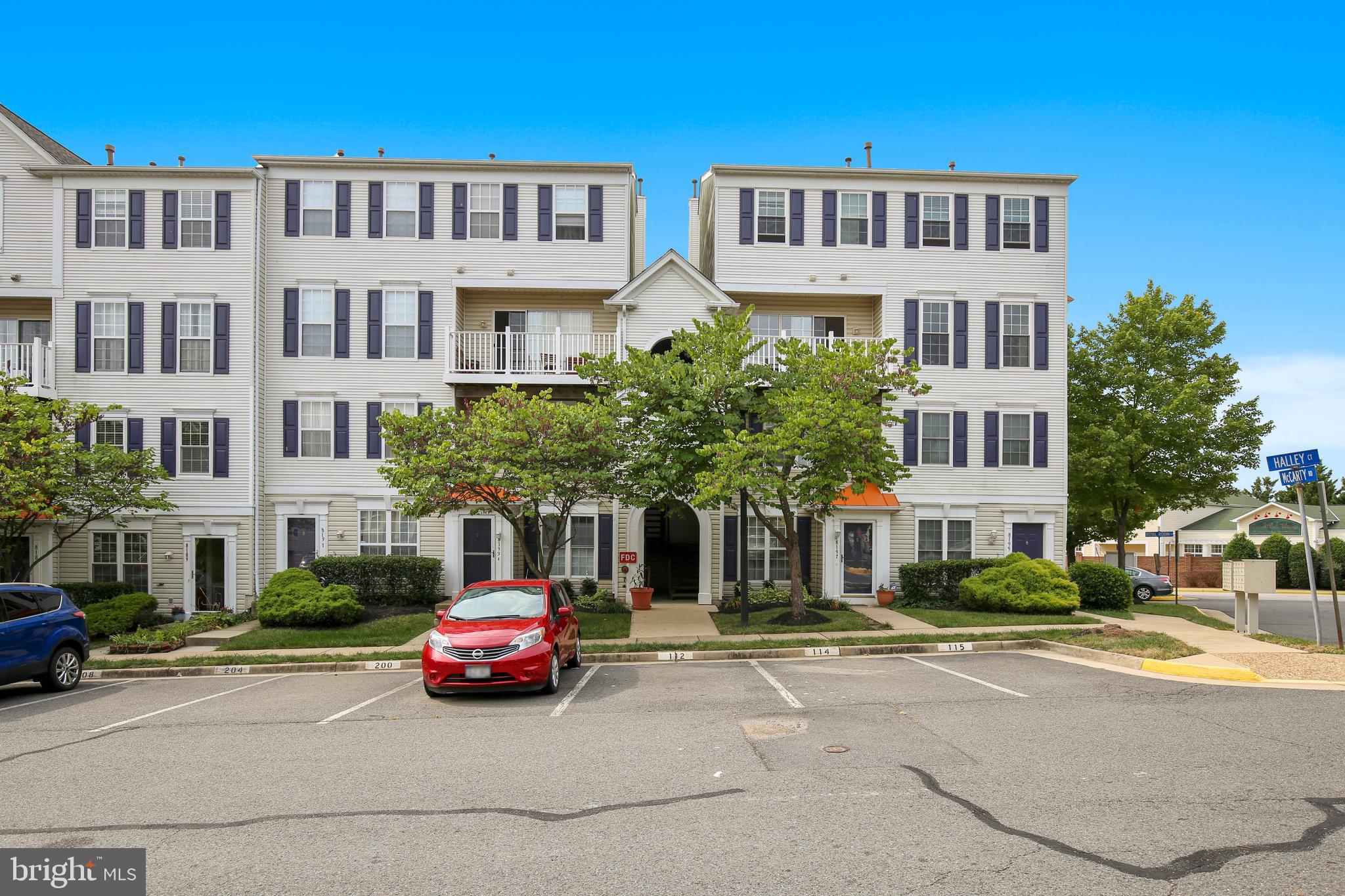 JUST REDUCED! Newly updated two-level 2 bed/2.5 bath condo in Lorton, turn-key and ready for you to move in! Lots of windows offer natural light, and balcony gives you private outdoor space with no maintenance! Main living areas feature wood floors and the gas fireplace is perfect for those chilly fall nights that are fast approaching.  Kitchen has newer appliances and opens to living and dining areas for easy entertaining! Upstairs, two large bedrooms each have private baths.  Located close to shopping, dining, major commuter routes, and public transportation.