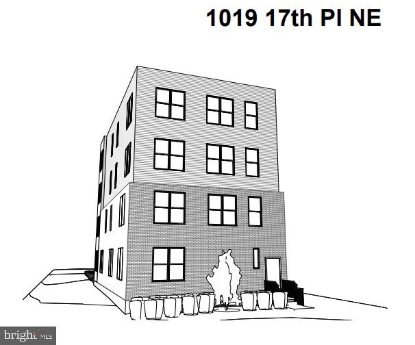 Amazing opportunity for a nearly shovel ready development! The seller has done the heavy lifting of starting the permit process and completing architectural drawings.  The vacant four unit building has plans to convert into an 11 unit condo building. See similar finished projects at 1009 17th St NE (8 units) which had over $3.4M in out sales and 1021 17th St NE which projects over $3.6M in out sales.  The current architectural drawing includes two 2 bed 2 bath units in the basement. Two 1 bed 1 bath and a studio on the first floor.  Two 2 bed 2 bath units on floors 2,3 and 4.  Our contractor estimates to finish the project are in the $1.3M range.  Our out sale projections are in the $3.9M range.