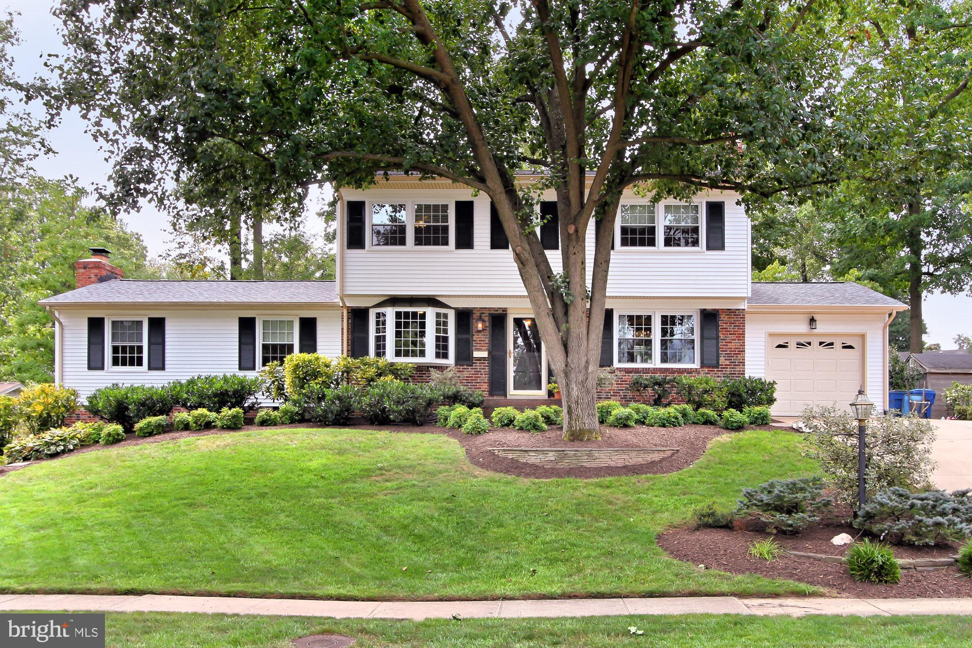 Extensively updated and meticulously maintained Colonial sited beautifully on lushly landscaped lot. These long-time owners spared no expense caring and improving their gorgous home. From the gracious entry, the formal banquet size dining room, the cook's kitchen and the oversized family room, this home will Wow you from the moment you enter. The master suite features custom built-ins, cozy window seat with storage, vaulted ceiling and walk-in closet. My favorite space in this home has to be the incredible screened porch where you can relax and enjoy the many varieties of flowering shrubs and mature trees. Off the porch is a large deck, stone walkway and shed. Professionally designed and installed landscape features multiple stone walls. This home is NOT to be missed! OPEN SUN 9/8