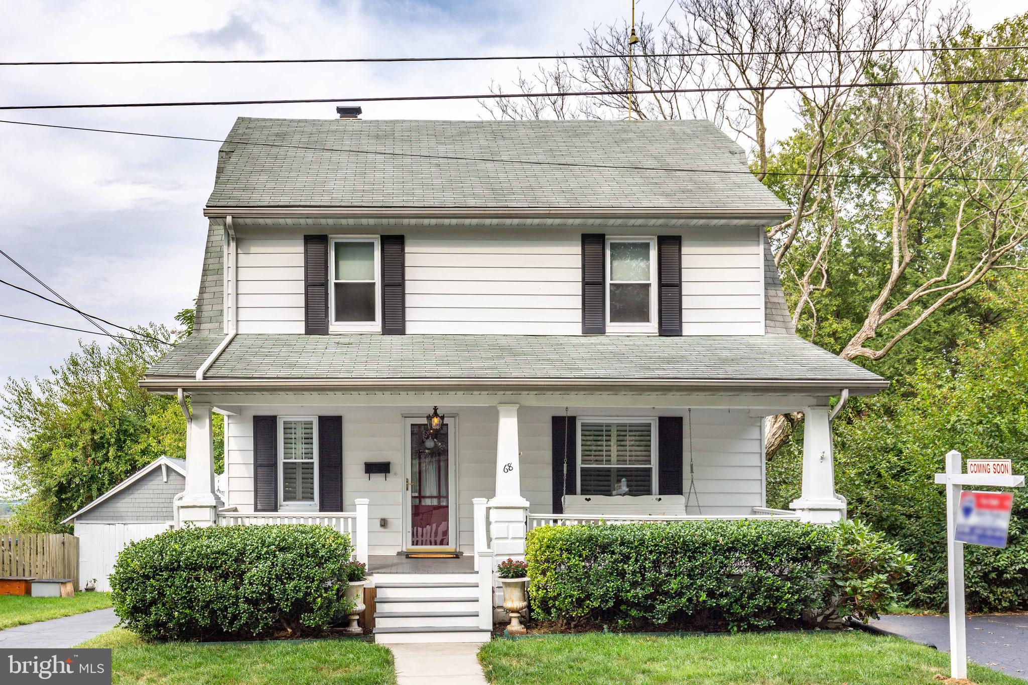 *Open House this Sunday Oct 27th 12-2*REDUCED!!!Immaculate 4BR 2Bath Colonial with 1 Car Garage*Outside features large front porch, bonus parking areas, rear patio with gas fire pit, Detached 1 gar garage recently painted,  newer windows, & fenced back yard*Inside boasts re-finished hard wood floors, wide custom moldings/arches, newly remodeled kitchen, newer baths, new electric panel, new paint, and more*Perfect blend of unique character with modern day comforts*Tucked away in a convenient section of town close to all amenities*Great price!!!*