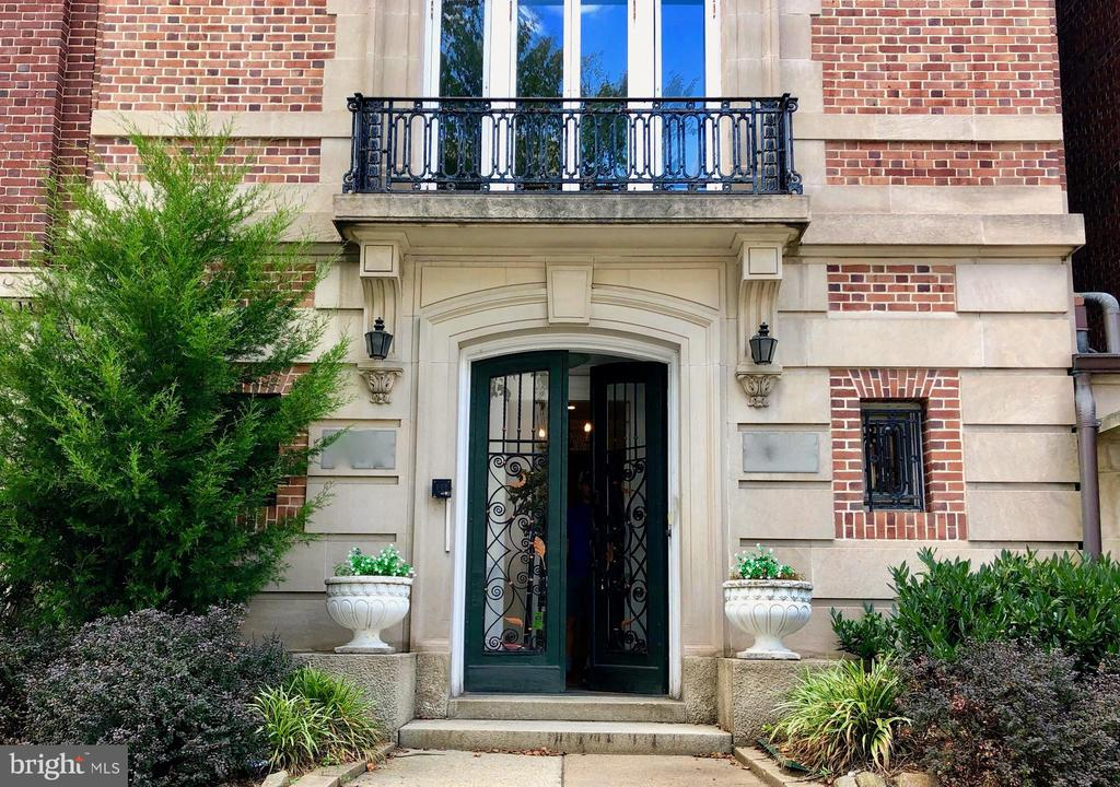 Built in 1906 by renowned Washington builder John H. Nolan in the heart of Kalorama, this 7 bed, 6 bath home features 6 fireplaces, leaded glass windows on the first floor, and beautifully restored original woodwork from the early 1900's. Onsite/offstreet parking offers space for 2 cars in the rear of the building. Currently being used as office space, the RA-4 zoning designation offers the opportunity to use the property as either a premier residence, live/work space, or as condominiums in one of the most coveted and prestigious neighborhoods in the city. Showings by appointment only. Also available for lease. Owner related to agent.