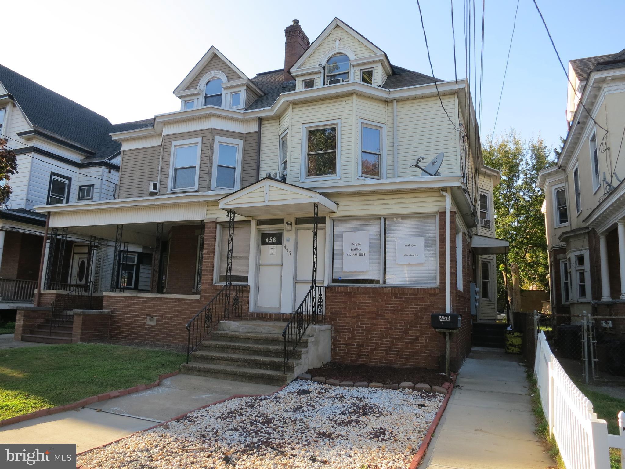 458 HAMILTON AVENUE, TRENTON, NJ 08609