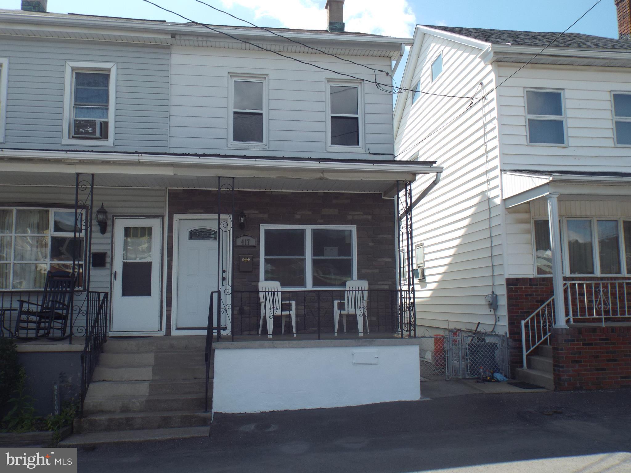 417 PINE STREET, MINERSVILLE, PA 17954