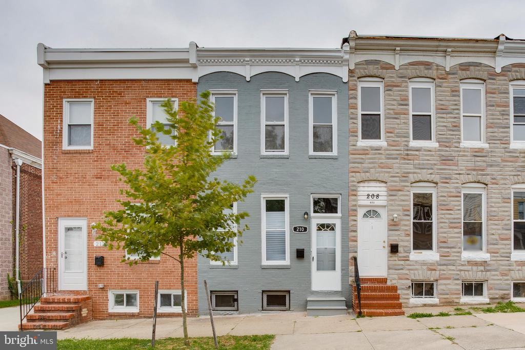 Introducing 210 S Loudon Ave! This affordable three-bedroom townhome in the Irvington community of Baltimore City has undergone a complete renovation and is available now! You will be delighted to come home and unlock the door. Quality workmanship, beautiful finishes, and new stainless steel appliances are just a few of the features that make this home an incredible value. Other unique attributes include, but are not limited to: a skylight that brightens the space, a fireplace which is great for cozying up with loved ones, and a fenced backyard that is great for entertaining. Just a quick drive to I-695, I-95, Route 40, and the West Baltimore MARC Station. Ask how you may qualify for down payment and/or closing cost assistance. Hurry up and schedule a tour today! An open house will be held on 9/22/2019 for an exclusive opportunity to preview the home.