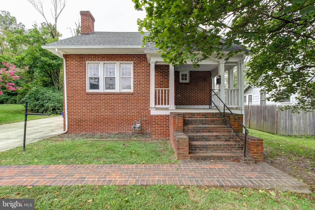Lovely Bungalow with Newer Kitchen,  Redone Hardwood Flooring, Newer HVAC, Large driveway, Walking Distance to University of Maryland and Metro.  Sold as-it-is.