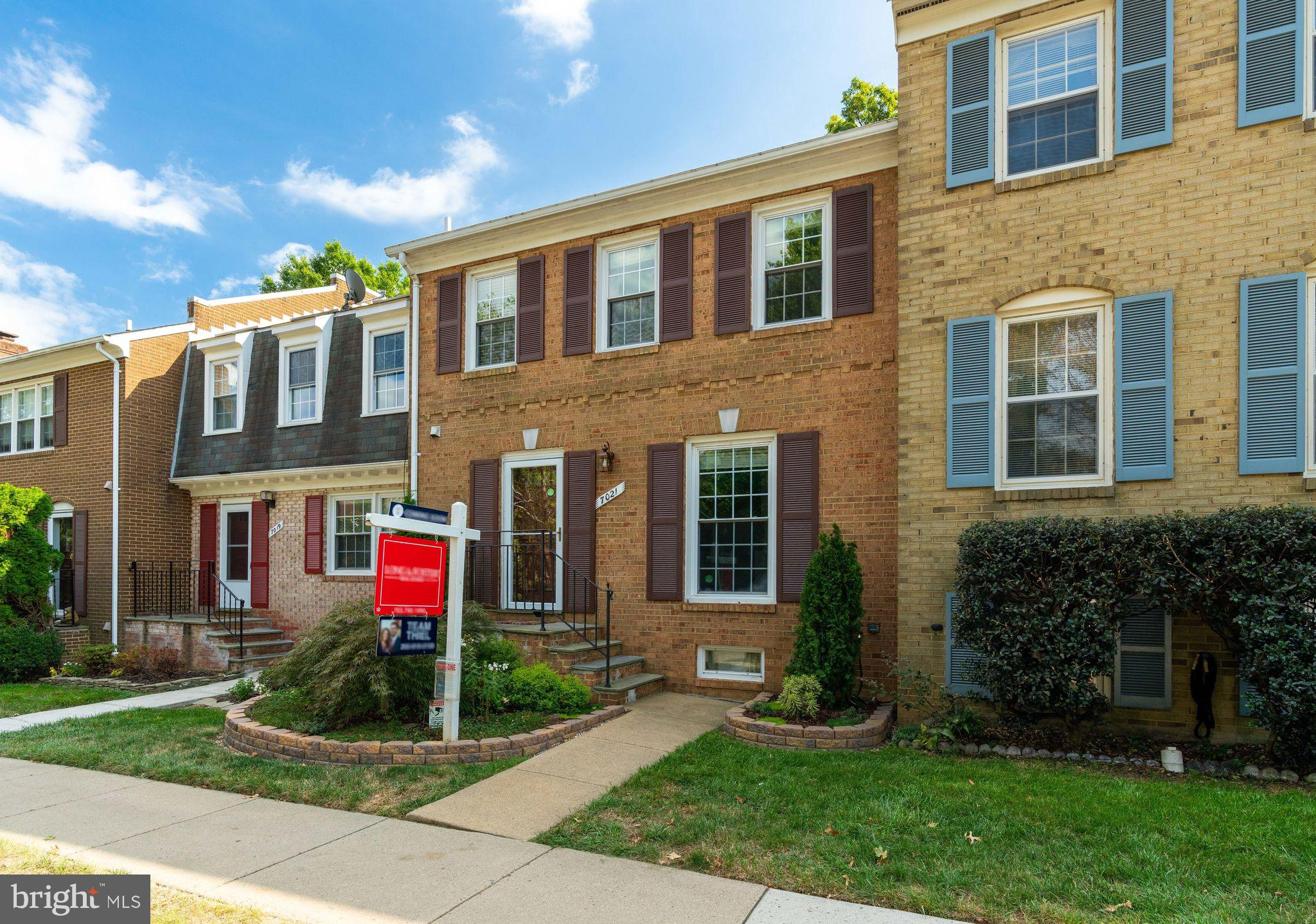 Welcome home to beautiful Leewood, featuring 195 premium townhomes inside the beltway! This all-brick townhouse was renovated in 2016 with an extensive $50k renovation and is move-in ready! The renovated kitchen~s stainless appliances and high-end granite countertops will make you feel like a gourmet chef. The light-filled main level is perfect for entertaining with gleaming hardwood floors and a flowing layout. Those beautiful hardwoods carry through up to the second floor and throughout the bedrooms. Updated vanities, tile, and fixtures in the bathrooms have a harmonious spa-like quality and will leave you feeling refreshed and ready for the day.  The lower level features a recently added full-bathroom, second living room with fireplace, and walks out into the beautifully manicured backyard.  Conveniently nestled inside the beltway, only minutes to  95 and the 495 Express lanes.  Conveniently located across the street from Bradlick shopping center, featuring Starbucks and Giant. The location cannot be beat!