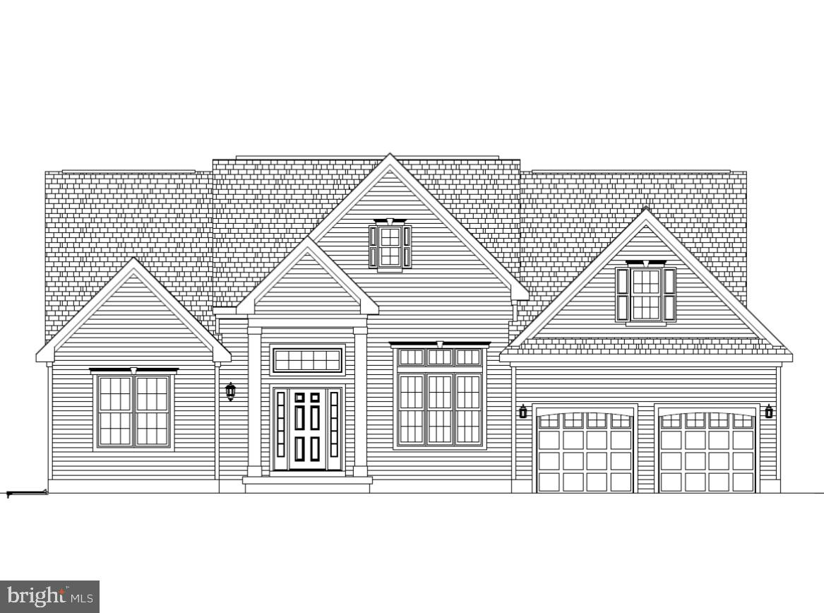 The Fairfield on Homesite #62 with 4 Bedrooms, 3 Baths and 2 Car Garage.