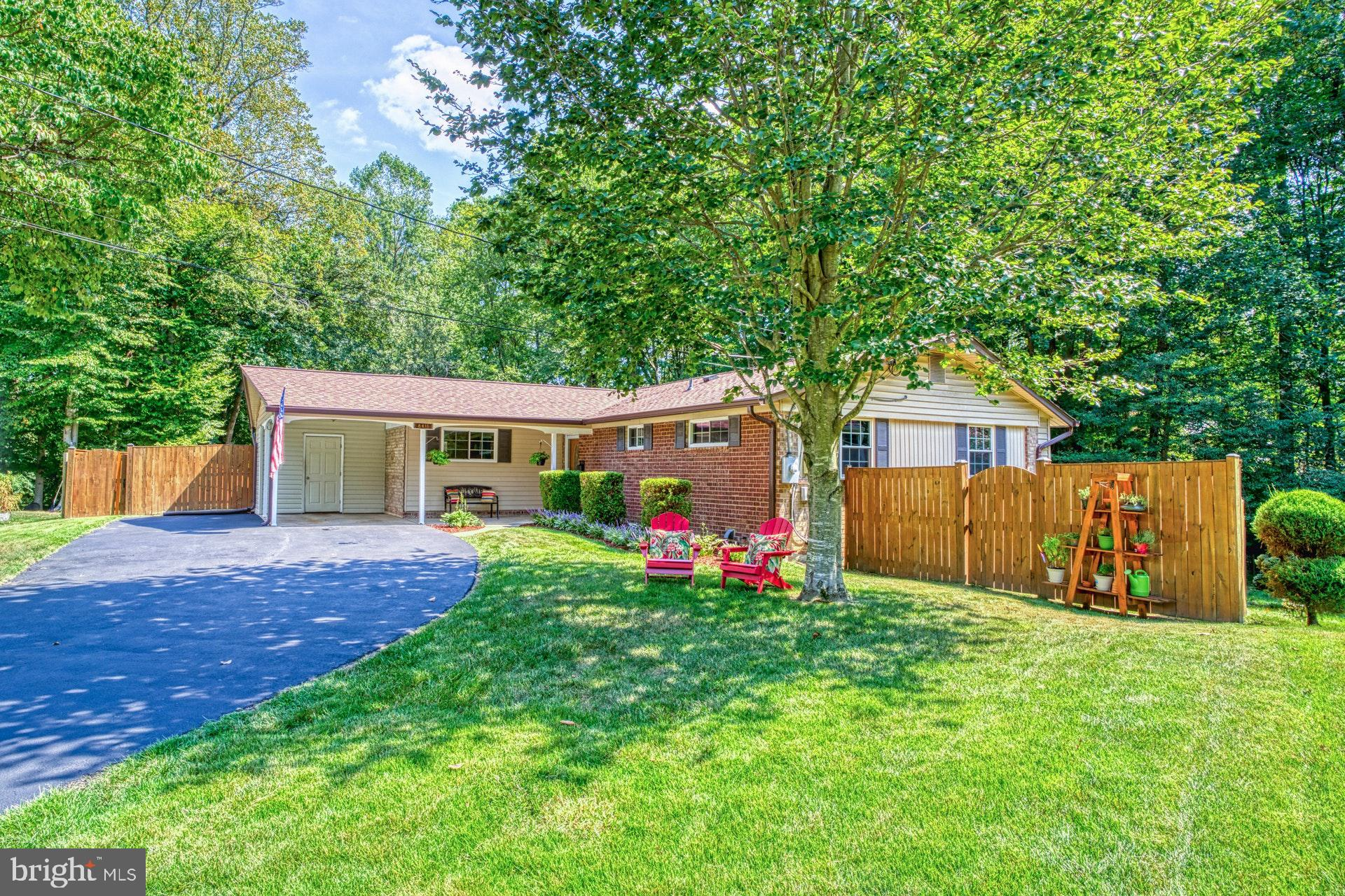 Amazing home on One Third Acre, Cul-De-Sac Lot. Lovingly maintained and exquisitely updated by Current Owners; their pending employment transfer is purchaser~s gain. Over $50,000 in Recent upgrades. Hardwood and Ceramic Tile Floors throughout. Chef's Kitchen features Stainless Steel Appliances, 42-Inch Maple Cabinets, 5-Burner Gas Range, Granite Counter-tops and Cozy Breakfast Nook. Wall of Windows in Living Room, Bay Window in Dining Room. Fresh paint throughout home. Remodeled Baths feature Updated Fixtures, Ceramic Tile Floors and Backsplash. Lower Level includes Expansive Family Room and Wet Bar with Granite Counter-tops, Sink and Mini Fridge. New Roof, Deck, Fence, Gutters, Security System and more. Newer Windows (except Bay) and extensive lighting fixtures. Fenced Rear Yard is an Entertainment Mecca that also includes rear Patio. To die for Rear Yard Surveys Acres of Parkland.  See Documents for Extensive List of Improvements and additional Special Features. Minutes to VRE, Metro Bus Stop and Beltway. Convenient to the Pentagon via Direct Metro Bus and Washington DC. Magnificent Lake Braddock Secondary School Pyramid. Experience the Convenience of Exquisite Main Level Living with the added bonus of a beautifully appointed Lower Level. Hurry! Won't last!