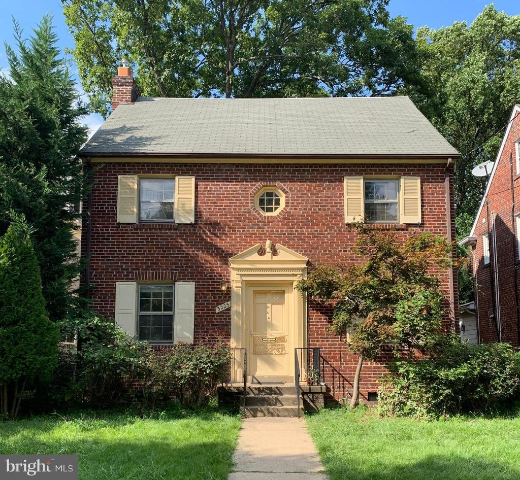 Completely renovated by Allen Built Homes - quintessential Chevy Chase DC Colonial one block from Lafayette Elementary School.