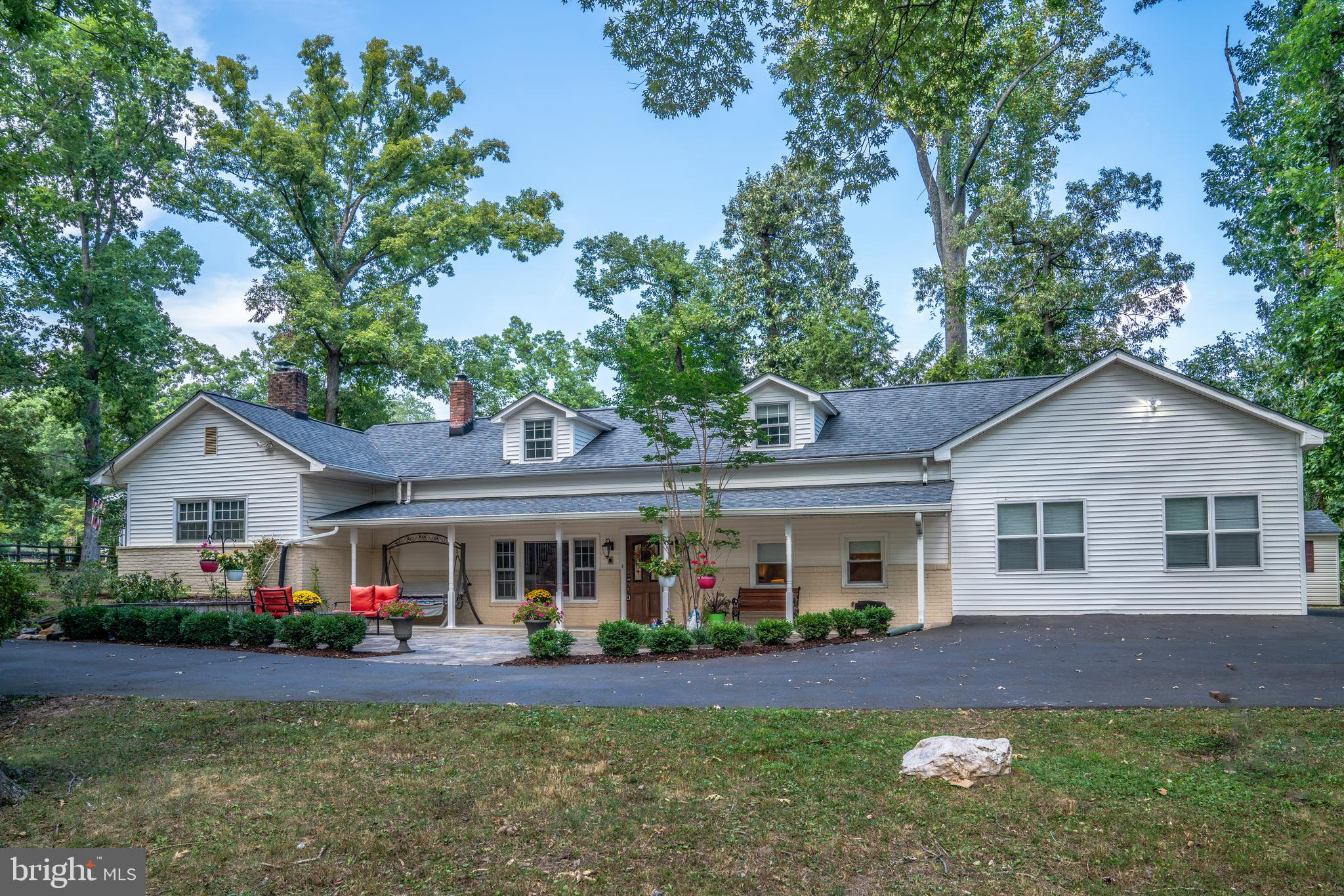 WELCOME TO YOUR GET-AWAY IN THE CITY! This complete renovated multi-level home offers 5 bedrooms, 3. 5 bathroom is surrounded by .7 acres of tranquility making it perfect for fabulous indoor/out living. Among countless of updateds, a brand new roof had just been installed (2019) & a brand new furnace (2018); a set of newer high capacity front load washer/dryer (2017). It has been painted. Adding gorgeous granite counter tops & high end stainless steel appliances in the kitchen complementing it with an extended eat-in bar-top transforms the kitchen into a perfect place to entertain family & guests. This home includes a beautiful patio lounge area in front & enormous deck  extending an end to end of the rear of the home. It has a sunroom as a bonus room, perfect for enterment rain or shine. Tugged away on right of the entrance are 2 bedrooms, 1 huge game/recreation room (pos guest room) with a beatiful full bathroom. An enormous storage space above the game room & the adjoining laundray room. Your family is quickly warmed by the wood burning fire plac upon entry. The tranquility is a perfect get-away for it is a hidden treasure in the heart of Annandale, surrounded by countless of shops, restaurants & conviniences. This home has been priced for a quick sale. So do not miss this rare find.