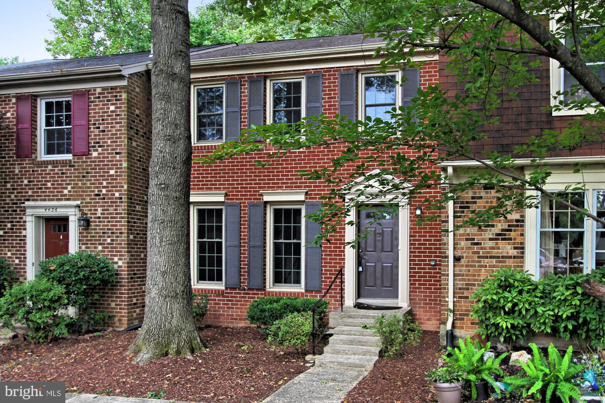 Meticulously maintained and beautifully renovated  all brick three level townhome in the heart of Annandale.   New privacy fence surrounds a charming brick patio and mulched planting area.  New HVAC and hot water heater! Freshly painted throughout with neutral paint and white trim. Brand new, gleaming hardwoods on the main level.  Eat-in kitchen with new granite counters tops, sink, and faucet.  White cabinets and spacious pantry.  Newer SS appliances.  Double pane replacement windows throughout . New, programmable Bryant thermostat with Wi-Fi connectivity! Upper and lower levels have brand new, plush, neutral, wall-to-wall carpet. Newer light fixtures throughout.  Generous master bedroom with updated en-suite bath and dressing room. Fabulous lower level rec room, perfect for informal entertaining.  New wood burning stove and a bar area.  Ample storage space.  Great utility room with rough in plumbing. Newer washer and dryer convey.  Minutes to I-495, shops, and dining.