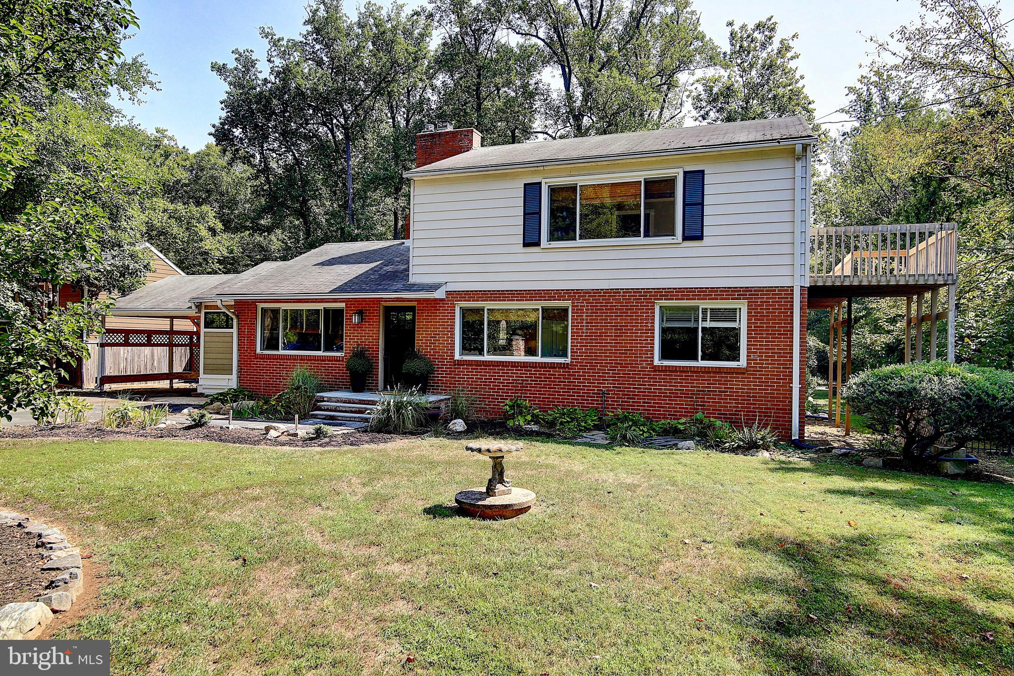 Here is your unicorn! Expertly renovated home filled with character and all the modern amenities on a private 1/2 acre lot INSIDE the beltway! Minutes to 395, 495 & 95. Half a mile to a METRO Bus Stop. Less than 5.5 miles to VRE station. No HOA community. The lower level features a gourmet kitchen, large living room/ dining room with library, den/ office/ guest room, 2 bedrooms, 1 full & 1 half bath and large laundry room. The upper level offers a functional family room and spacious master suite with spa bath and walk-in closet. Your living space is expanded outside with 2 decks, a Four Seasons Room, patio and pavilion. Enjoy fall evenings by your fire pit. The hardest part of living here is deciding if you want to stay-cation at home or explore all DC has to offer!