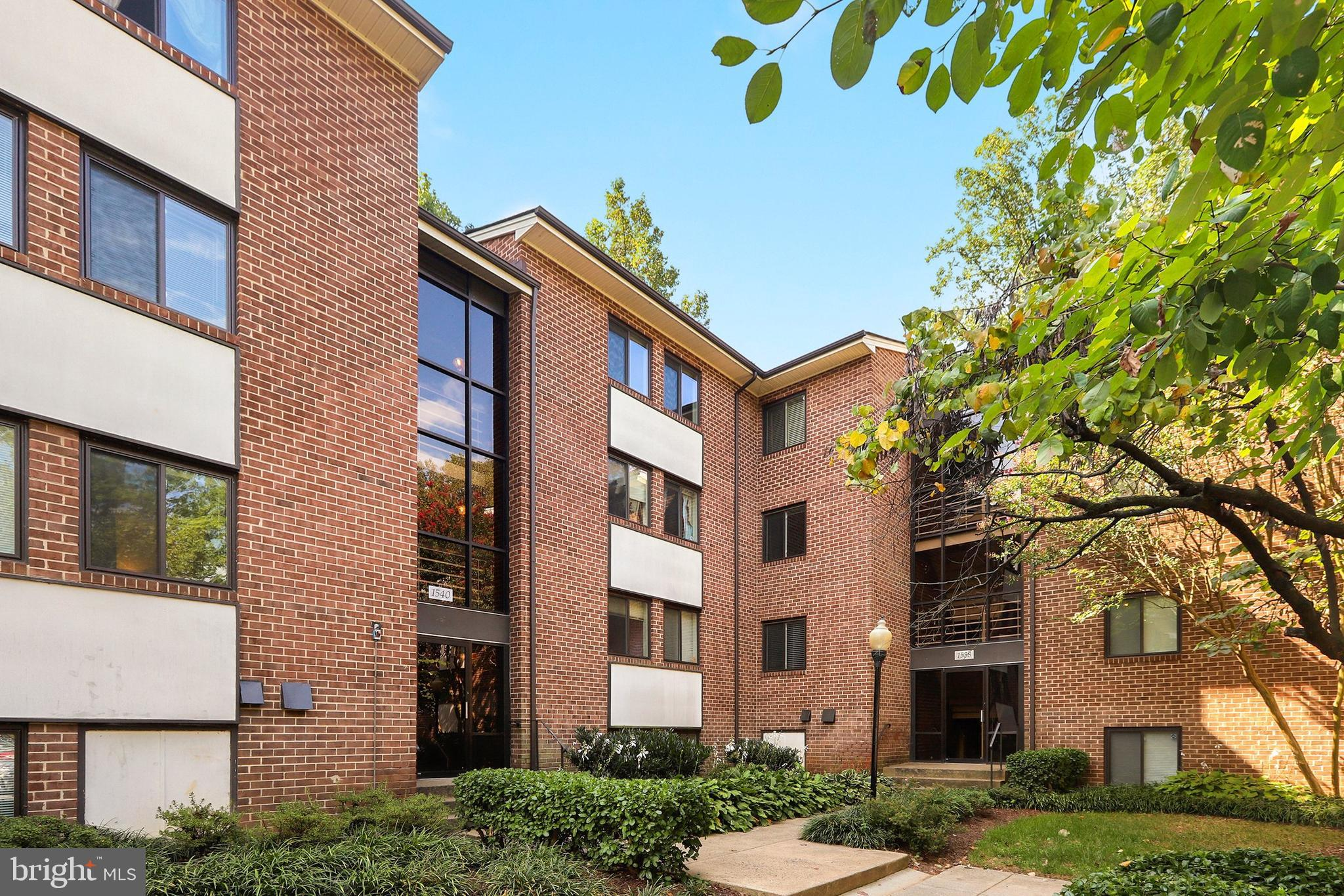 Beautiful top floor condo in the heart of Reston. Lovely hardwood floors throughout the unit. Kitchen is updated with granite countertops and bathroom updated with newer vanity.  Newer washer and dryer. Large private patio to relax on! Condo fees include water, electricity, and gas among other things. Close to playground, trails, tennis courts, bus stops Lake Anne Plaza and Reston Town Center.