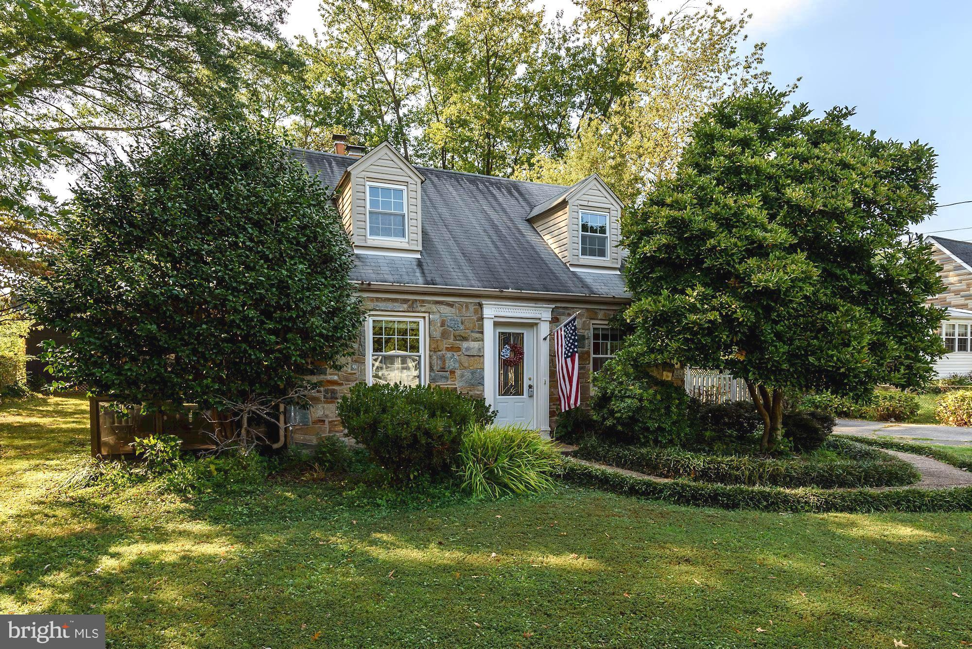 Charming, updated cape code on a huge lot in Alexandria! This home offers plentiful natural light, a spacious kitchen, family room & sunroom addition, gas fireplace, pellet stove and more!  Spacious bedrooms and updated bathrooms.  Step out on the deck off the master bedroom to enjoy the private treed lot overlooking the fenced-in backyard.  Some of the other home updates include newer windows, Hot water heater and boiler, newer  gutter system (Leaf Defier with 25 year transferable guarantee), new gas fireplace insert and two sheds.     Large driveway.  Situated near plenty of shopping and dining options and only minutes to Old Town Alexandria.  This home is being offered As-Is.