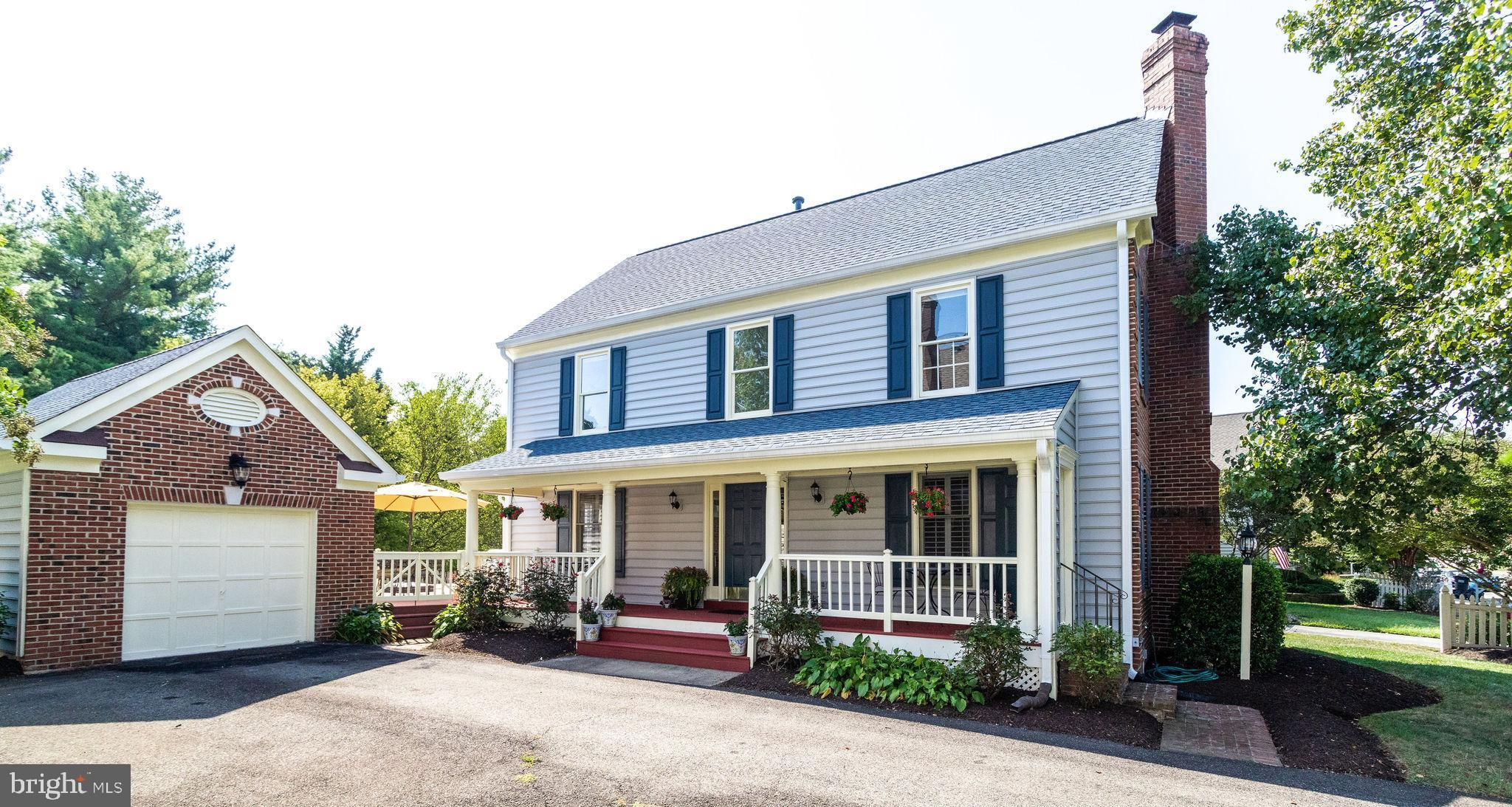A Southern Charmer in New Charleston. A Graceful Front Porch Greets you and offers you a view to this picturesque neighborhood in the heart of Springfield.  The inside will charm you as well.  Newly re-finished hardwood floors throughout the main level, new carpet upstairs and freshly painted everywhere.  Roof and Siding Replaced in 2018. New larger and extended gutters replaced in 2018. All new stainless appliances installed in 2017. New lighting installed throughout in 2019.  The front porch has been extended to greet the trex deck leading from the family room to the back yard.  Perfect for entertaining and grilling. The backyard is flat and is fenced - the perfect playground for everyone, including pets. Backs to common area, so your view is extended.  This is one of the prettiest neighborhoods in the area. Stop by. You won't be disappointed.