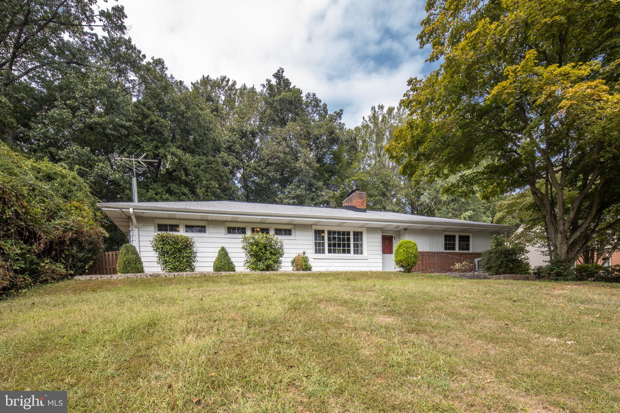 Fabulous one-level, updated home inside the beltway. Easy access to 395, 495, and 236. Set in a rural setting on a beautiful lot (.73 acres) in Annandale Acres. This home has many upgraded features including new windows (2015), modern kitchen, and a great open layout for entertaining. A bright back-porch and breezeway make for easy access to the garage. A rolling front yard and serene backyard make this beautiful home a must-see!