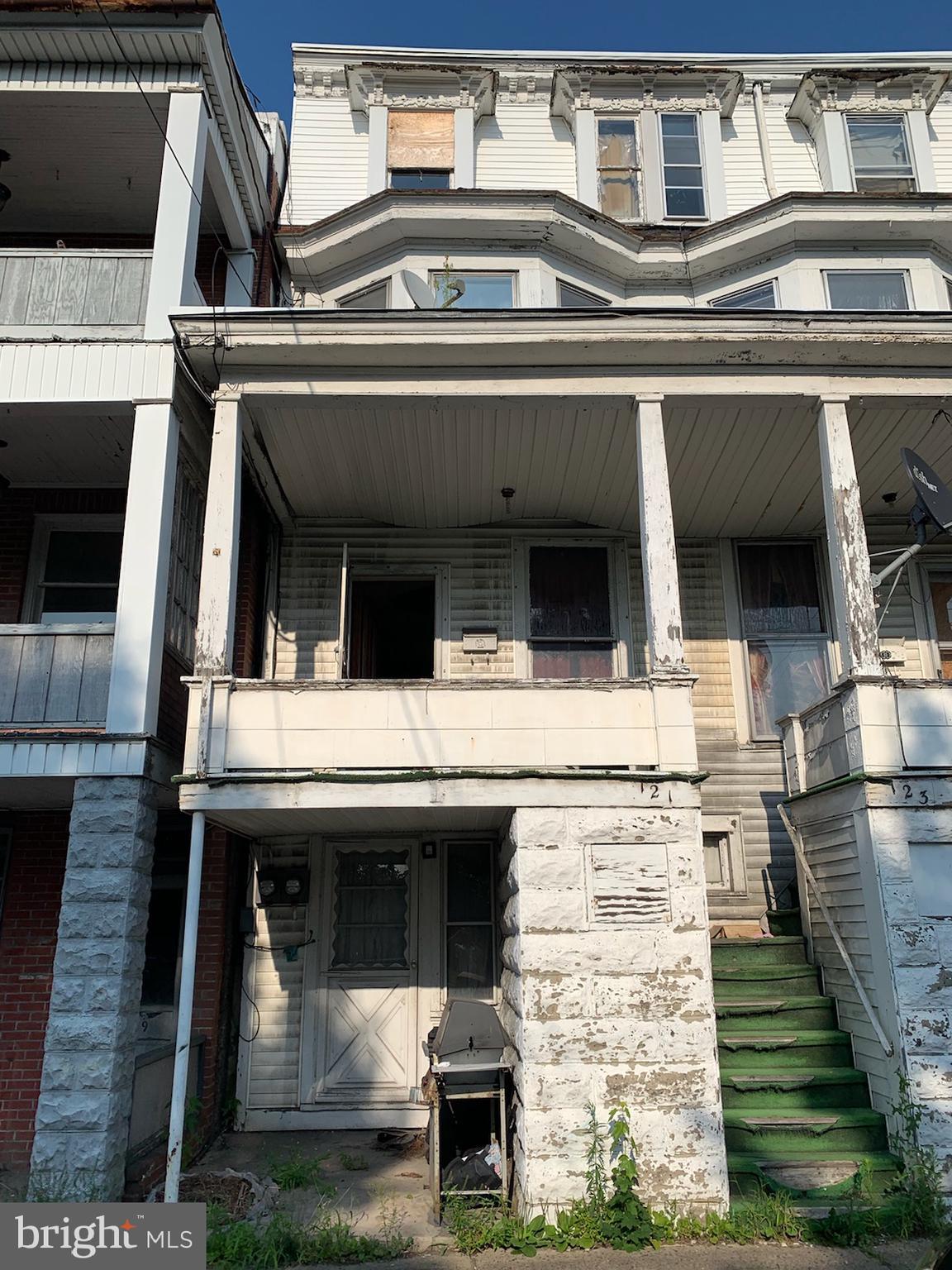 121 S MARKET STREET, SHAMOKIN, PA 17872