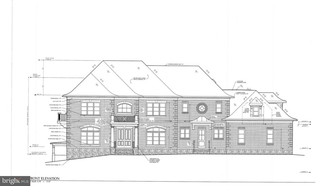 Luxury new home to be built. 5BRs / 7 Full BAs / 3 Half BAs / 3 FPs. Elevator. 9ft + level ceilings. Oak hw floors. Custom Gourmet Kit w/ ample cabinetry, oversized island, ss apps & Bfast Rm. MBR ft signature entryway & Sitting Rm. Luxurious MBA w/ marble glass enclosed shower & soaking tub. Walkout LL w/ expansive bar & entertainment area. Multiple outdoor living spaces -terrace& screened porch. Option to have home built or purchase lot.