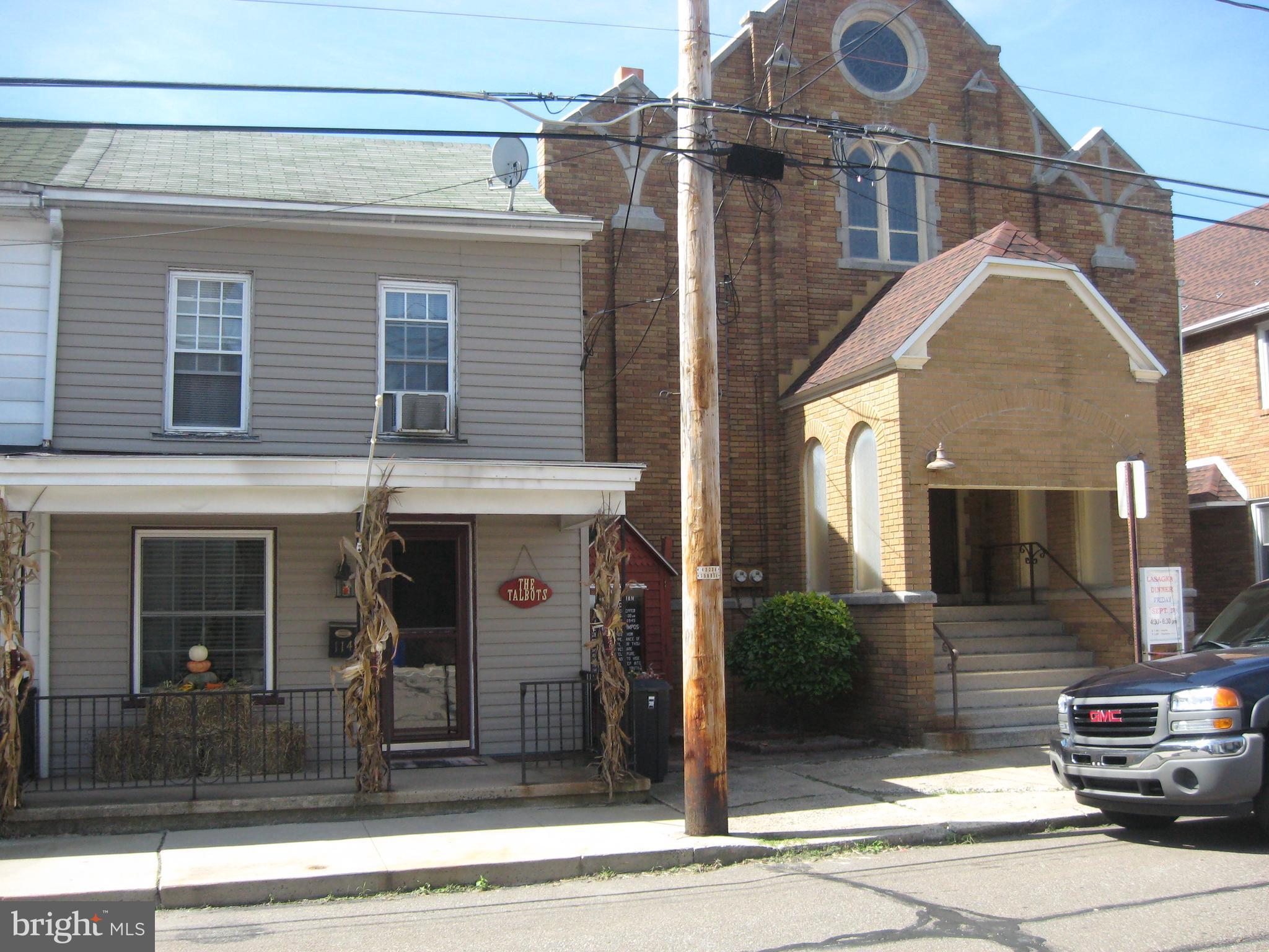 114 N MILL STREET, SAINT CLAIR, PA 17970