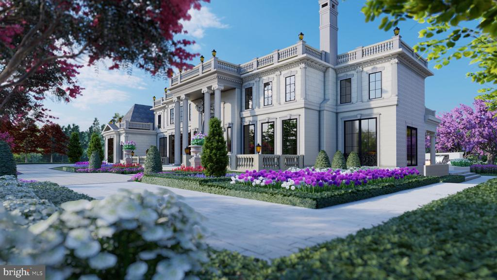 Unparalleled opulence awaits at Le Reve, one of the finest residential communities to be developed in decades. The Building Group officially breaks ground on the construction of their next French provincial masterpiece, Chateau de Riviere, ready to move in late Summer 2020. The Le Reve aerial renderings (pictured in the above virtual tour) depict the homes to be built, as well as all recent sales in the Le Reve community. Customize your dream home in Great Falls' most sought after neighborhood today. Only four lots remain!
