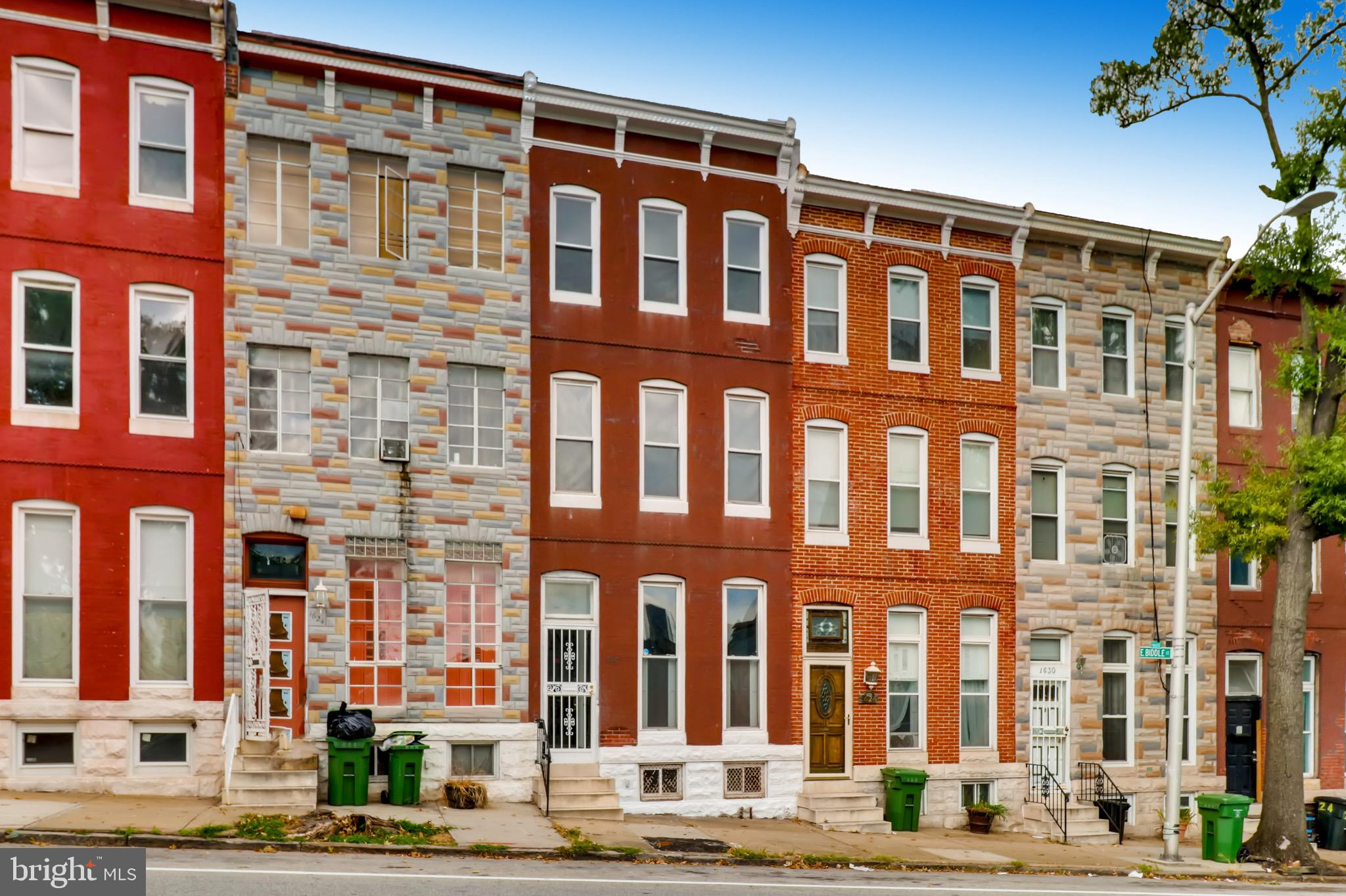 1626 E BIDDLE STREET, BALTIMORE, MD 21213