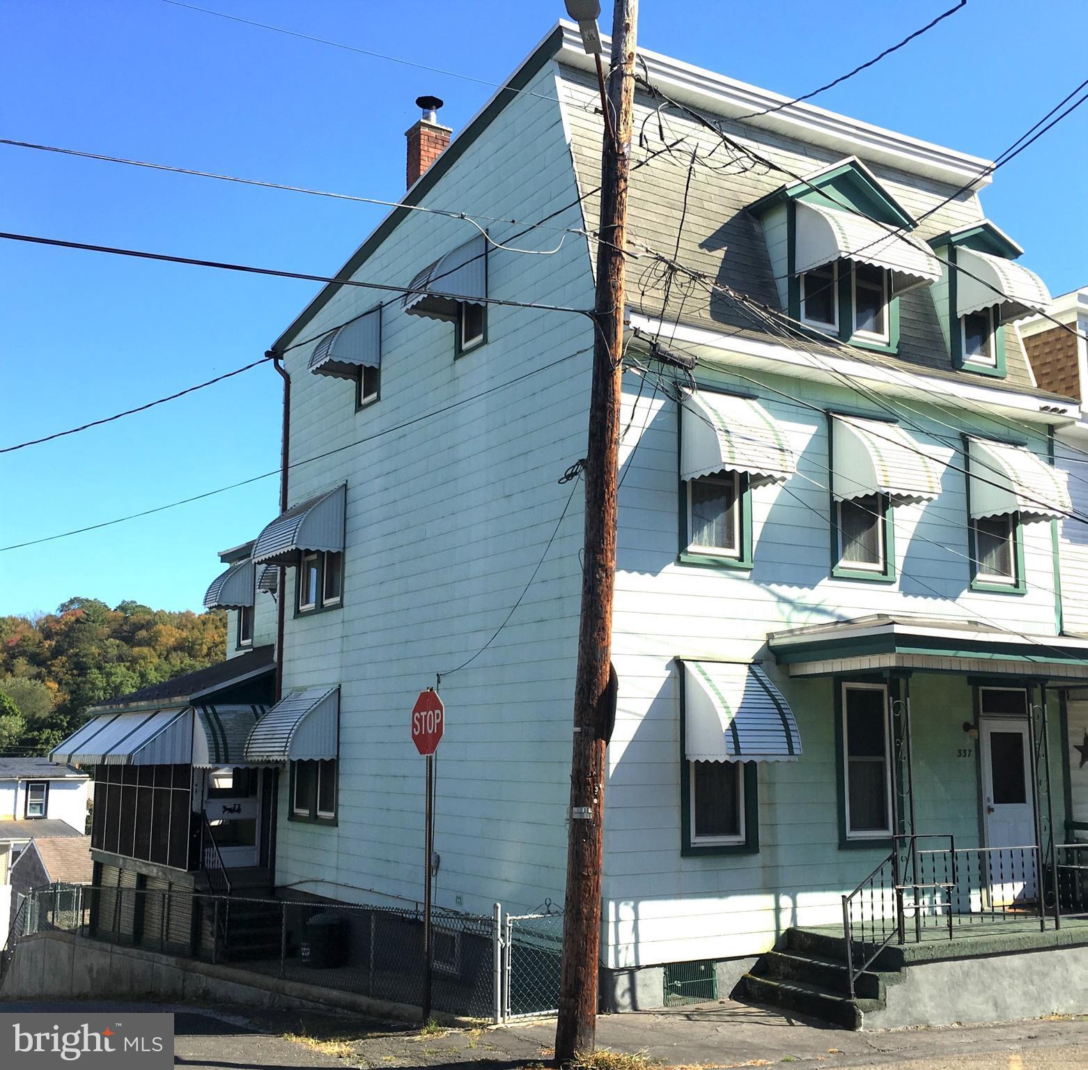 337 CHERRY STREET, MINERSVILLE, PA 17954