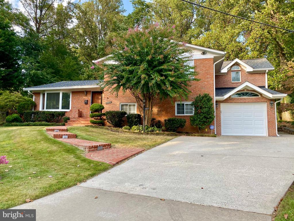 RARE OPPORTUNITY of a BEAUTIFUL 4 level split, at end of cul de sac, 5BR, 3 full BA, 1 car gar. New addition, master BR suite inc large walk-in closet + balcony, almost 1/2 acre spacious enclosed backyard w/ private access to park. Prof landscaping. Large deck & brick bbq, great for entertaining!!! In GREAT location w/ convenient access to 270/495, Montgomery mall, downtown Bethesda.