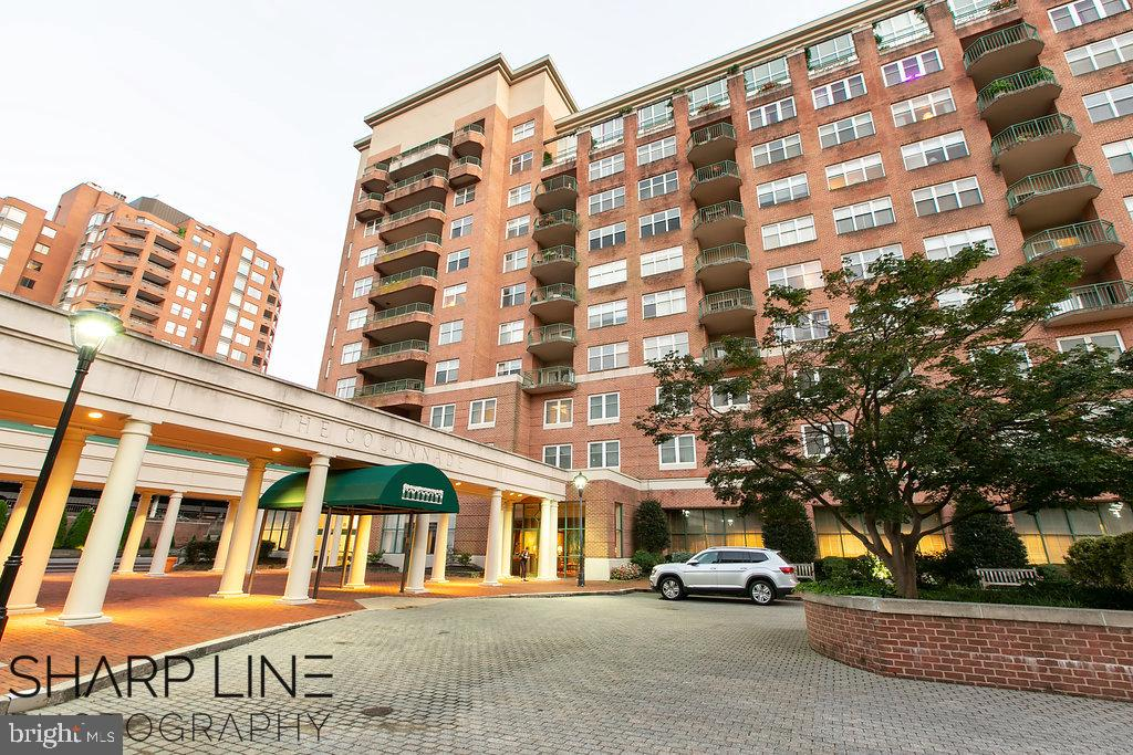 Wow! Check out this 3 bedroom, 2.5 bath condo with exquisite views of Hopkins campus and the city from the corner of the balcony.  It features hardwood throughout, marble foyer and bathrooms, 2 parking spots, gym, 24 hour security. Enjoy short walks to restaurants, parks, walking trails, and museums. Easy access to 83 and a short trip (walking, biking, scooting) to the Inner Harbor Attractions.