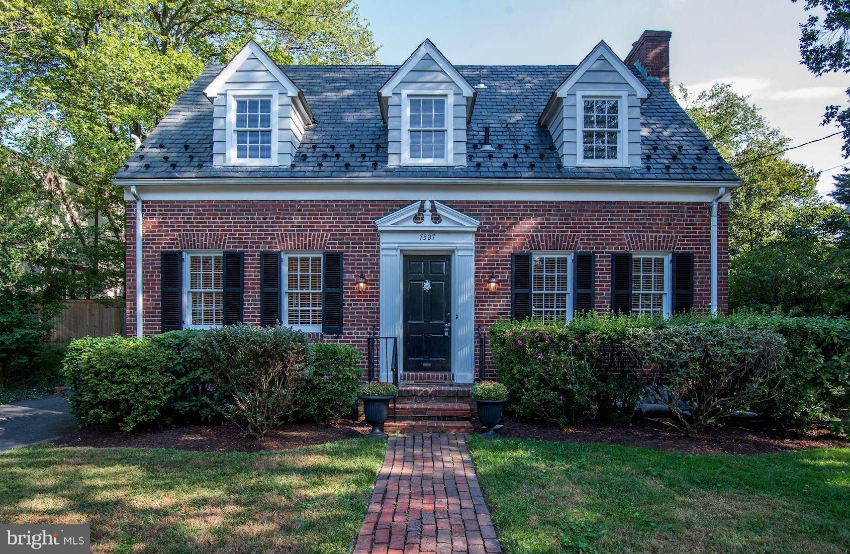 7507 BROOKVILLE Rd, Chevy Chase, MD, 20815