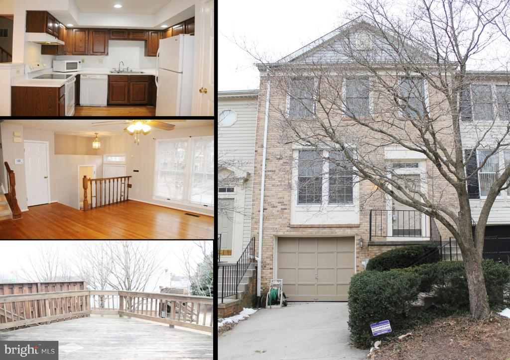Rarely Available Garage Townhome in the desirable Owings Mills / Garrison Community of Coach House at McDonogh - nearly 2,000 square feet of living space! Garage & Driveway parking (plus guest parking).  Large Deck off the Dining Room.  Spacious Master Bedroom with Vaulted Ceilings & Private Master Bathroom & Walk-in Closet, Built-in Vanity too & dressing area too.  Wood Floors on the main level.  Fully Finished Family Room with Level Walkout to backyard.  All appliances included plus washer & dryer.  Access to Tennis Courts & Community Pool.  Just 3 miles from I-695 & 1.5 miles from I-795. (government rent vouchers not accepted).