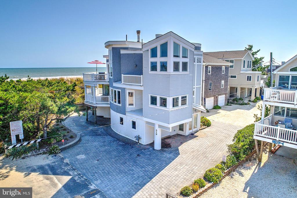 One of Long Beach Island 5 Bedroom Homes for Sale at 519 N OCEAN AVE.  N