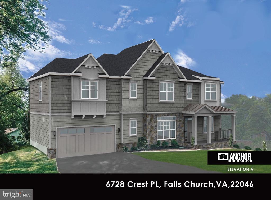 6728  CREST PLACE, Falls Church, Virginia