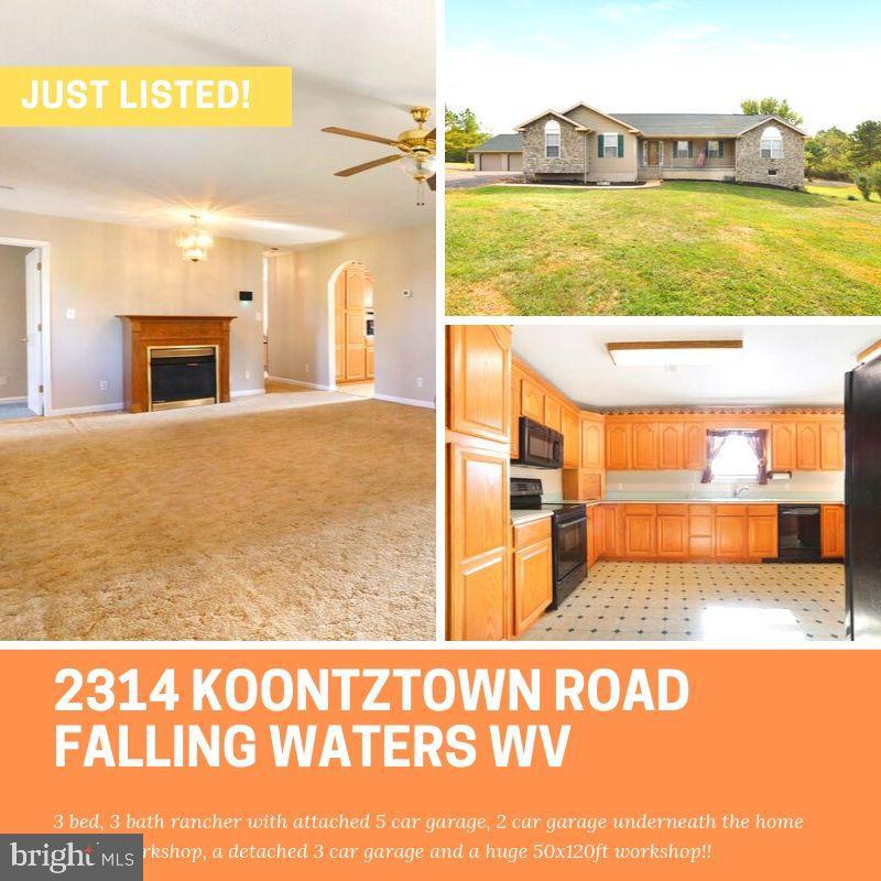 2314 KOONTZTOWN ROAD, FALLING WATERS, WV 25419