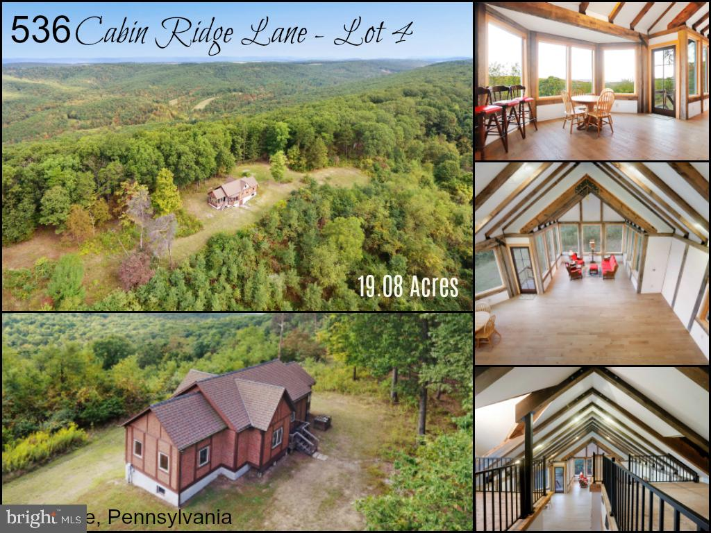 536 CABIN RIDGE LANE, CLEARVILLE, PA 15535