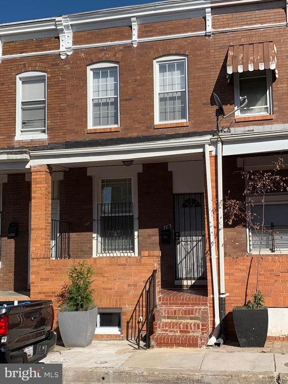 Seeing is Believing.  This is a similarly magnificent renovated 3 bed/3.5 bath YOU will be delighted to call home. Living room is enriched with 9 feet ceiling and natural exposed polished brick.  Master bedroom is equipped with it's own master bath, adorned with Italian marble floor, jacuzzi with shower and satin finished highly durable fixtures. The kitchen is immaculate with granite counter top, high efficiency stove, refrigerator, dishwasher and microwave with 10 year manufacturer's warranty. Fully finished basement with legal bedroom, full bath and sump pump, plus extra room for office or playroom. Privacy is provided with fenced and concrete slabbed backyard. Seller will redeem ground rent at settlement. Opportunity to capitalize on Vacant to Value and Live Near Your Work incentive programs. Easy access to public transportation, rte 40, 1-695 and 1-95, Johns Hopkins University, Patterson Park, Restaurants, Churches, schools, shopping and downtown Inner Harbor.