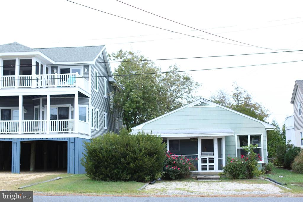 """LOCATION EAST OF  ROUTE 1  Quaint and charming 3 bedroom, 2 bath cottage on quiet street, 2 blocks from the beach! Front screened in porch catches the morning sun and back deck provides shade and sea breeze in afternoon.  Area is complete with outside shower.   4792 square foot lot can be a great starting point for a beach house of your dreams should  a cottage not meet your current needs.  House sold """"AS IS""""  Location is minutes to restaurants and other attractions that Bethany  Beach offers."""