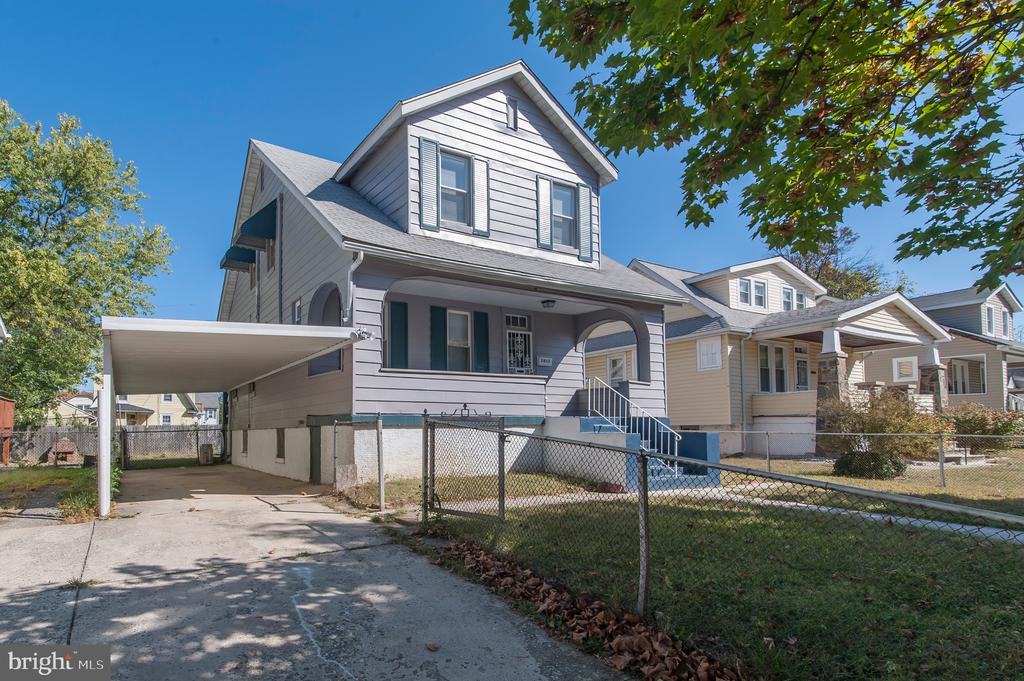 Awesome Home for Sale!! You will Love this House! Brand New Kitchen with Granite, Stainless Steel Appliances & Tall Cabinets. Open Concept with Kitchen Island/ Breakfast Bar leading to Big Dining Area and adjacent to Back Yard BBQ Deck! Massive 20ft Wide Living Room Perfect for Lounging in Deep Comfortable Furniture with Beautiful Refinished Hardwood Floors and Recessed Lighting. Energy Efficient w/ Temperature Controlled and Separately Zoned A/C Wall Units System. Large Upstairs Bedrooms with Big Closets and Lots of Light. Boasts Large Fenced in Backyard Perfect for Pets. Tons of curb appeal with 20x7ft Front Sitting Porch Overlooking Great Block in the Dolfield/Ashburton Neighborhood. 3 Car Driveway plus Carport!! Priced to Sell. Don not Miss Out!!