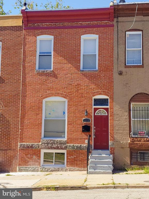 Welcome to 1002 N Patterson Park Ave!  Come be a part of East Baltimore revitalization.  You will fall in love the minute you walk into this 2BR, 3BA home.  Tray ceilings welcome you into the open floor plan.  The beautiful kitchen features granite countertops and state of the art stainless appliances.  Upstairs you will find the beautifully designed hall bath and bright and sunny front bedroom.  The rear master bedroom has dual sinks, a stand up shower, and access to the rooftop deck.  The finished basement offers a 3rd full bath and extra room that can be potential space for a home office or family room.  2020 will be all about revitalization North of the tracks in East Baltimore as the multi million dollar Hoen building renovation is completed.  Ask the listing agent about all the exciting projects coming to the neighborhood!
