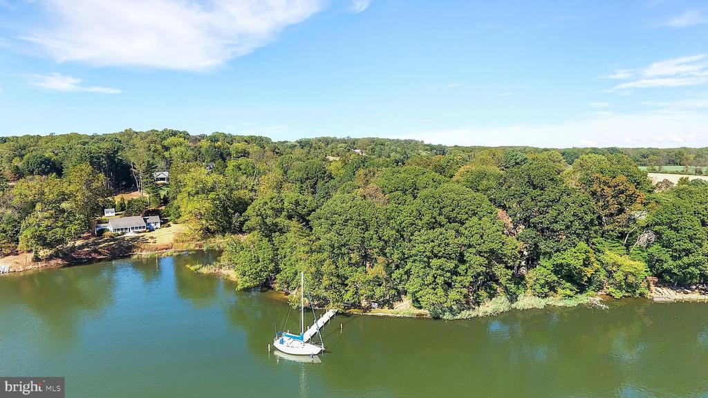 Exceptional waterfront property with over 2 acres on desirable Mill Creek in Saint Margarets that allows an excellent opportunity to build a fine estate home. Expansive views of Mill Creek with easy access to the Chesapeake Bay. Lot has been perked for new home.