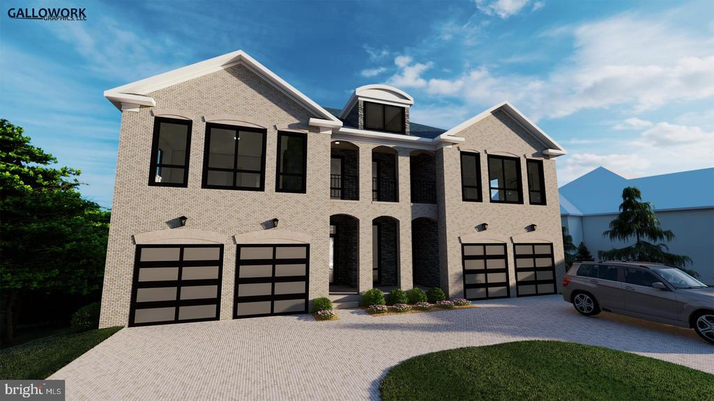New Construction! Spring 2020 expected delivery!  Introducing, The Benjamin @ Franklin Park, in McLean VA. This exquisite luxury Estate home is sure to wow you on every level. This exciting model boast well over 10,000 finished living sq ft on 3 levels.  Dual Masters Suites with nearly identical options for either main level living or upper level preferences. 7 bedrooms total, 6 full baths, 2 power rooms, 2 Laundry rooms, office, mudroom, 4 car garage (2 separate 2 car garages). 3 Zone HVAC (Carrier Infinity systems.) Natural Gas heat, whole house backup generator.   Private and secluded in sought after southern McLean (McLean School District) near DC and Tyson~s Corner, this .65-acre lot provides you the perfect balance or privacy an unbelievable views above the tree line from every level.  No HOA.  A RARE find. Elevated back yard. offering lots of privacy. Join builders email list to stay up to date on project status!~12 Foot Ceilings~7 BR 8 BA ~Custom door sizes ranging from 8~ to 10~~Wolf, Sub Zero Appliance package~DaVinci Slate Roof~Anderson Architectural Series Windows