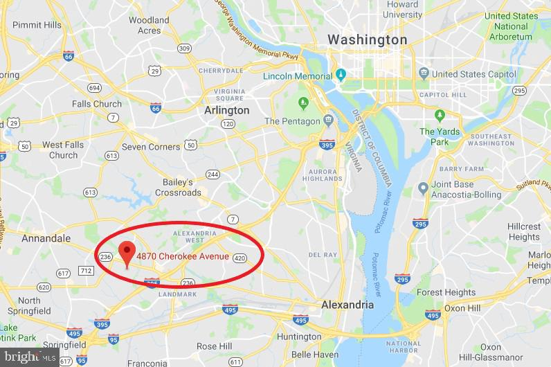 Alexandria Homes for Sale -  New Listings,  4892  CHEROKEE AVENUE