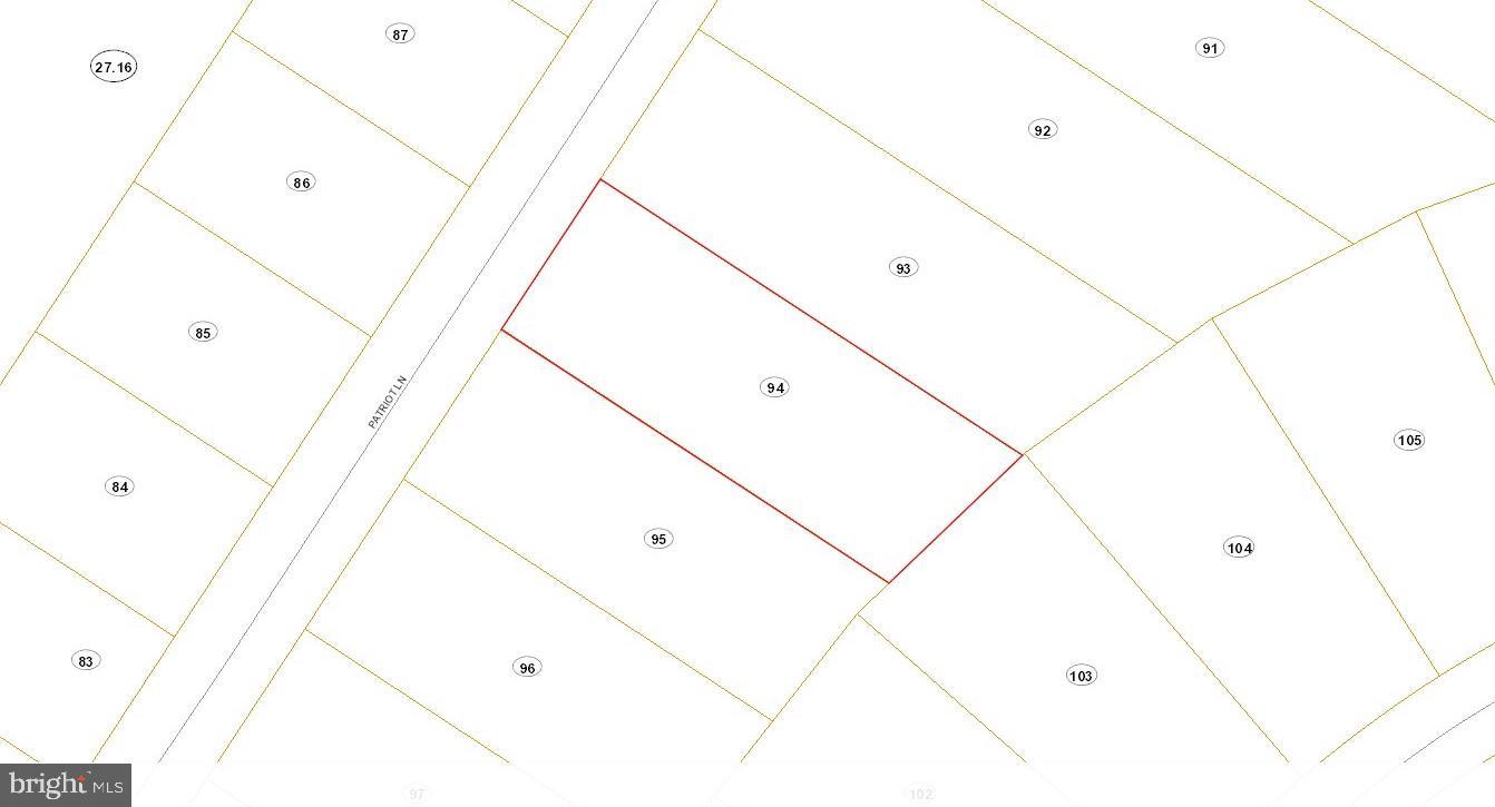 Lot #94 PATRIOT LANE, MORGANTOWN, WV 26507