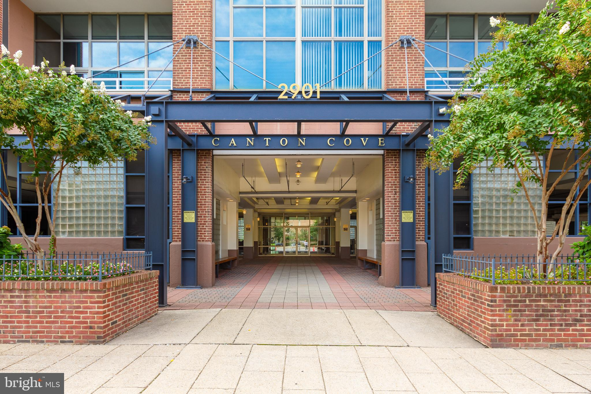 WELCOME HOME TO THIS 2-LEVEL LOFT LOCATED IN CANTON COVE CONDOMINIUM THAT SITS ON THE BEAUTIFUL BALTIMORE WATERFRONT.  THIS 2-BEDROOM 2-FULL BATH CONDO OFFERS CEILING-TO-FLOOR WINDOWS AND BALCONY.   LOFT IS A SPACIOUS MASTER SUITE WITH WALK-IN CLOSET, UPDATED FULL BATH, AND BONUS ROOM THAT CAN BE USED AS A DEN, OFFICE, OR READING/ZEN ROOM. FULL-SIZE LAUNDRY ON MAIN LEVEL. 2ND BEDROOM ON MAIN LEVEL OFFERS CLOSET BUILT-INS AND UPDATED BATH .  THIS OPEN FLOOR PLAN IS SPACIOUS WITH PLENTY OF STORAGE.  KITCHEN HAS A PANTRY CABINET, WET BAR, SEPARATE PANTRY CLOSET, AND LOTS OF DRAWER SPACE.  ENJOY THE SUNSETS FROM THE ROOFTOP DECK  STEPS TO THE WATERFRONT.  24-HOUR FRONT DESK AND ASSIGNED PARKING SPACE. GAS, WATER, AND CABLE INCLUDED.  LOCATED NEXT TO THE CANTON WATERFRONT PARK. CLOSE TO DOWNTOWN, FELLS POINT, HARBOR EAST, AND STEPS FROM CANTON CROSSING AND ALL ATTRACTIONS. CLOSE TO 95, 895, 695 & 83.  LIVE LIKE YOU ARE ON VACATION.