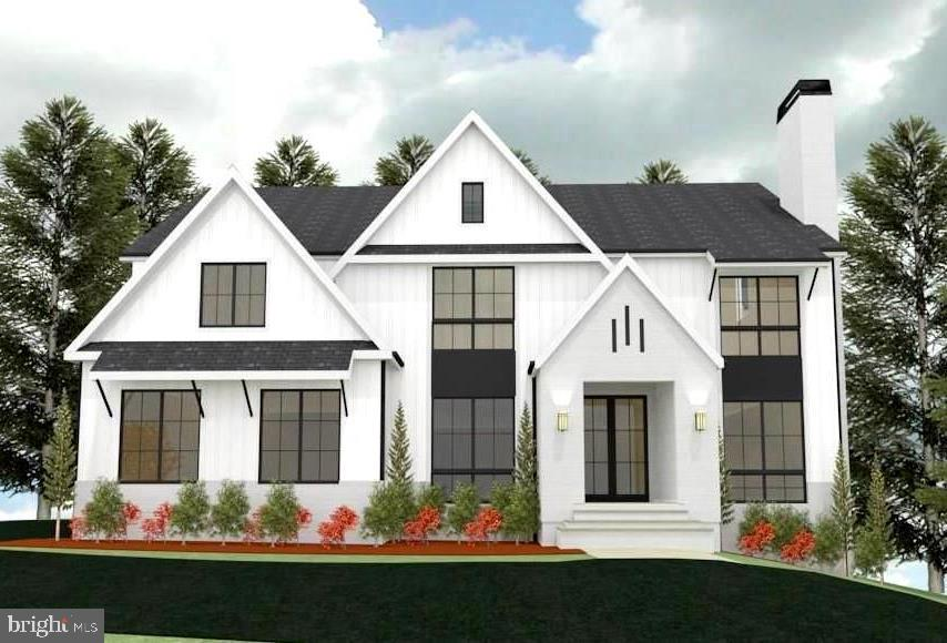 Under construction by Morbill Custom Homes. New transitional style home backing to parkland!  This 7500 SF house has a beautiful contemporary flare with high end finishes.  Just breaking ground, still time to customize.  Call for more information.