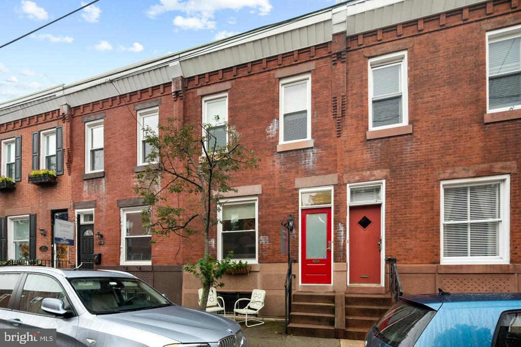 Super Green House on a Super Nice Block!  This house has a brand new 3.15~kW rooftop photovoltaic system, owned; part of SolarizePhilly program! You can expect to have a very small monthly payment for Electric.   Enter thru a brand new Security Front Door to a gorgeous open floorplan living room.  All original refinished hardwood thruout the home really accentuate the historic feel of this home.  There is a nice dining room connected to a kitchen and then a a mudroom with brand new washer/dryer and then there is still a back yard!  Upstairs are 3 good sized bedrooms and a full sized bathroom.  Additional improvements include; all new Pella windows, all new electric, new reflective cool roof, new plumbing, custom built-in closets with lights.  New paint, new Security Front Door and Transom, crown molding and even a rain barrel!  All this and just steps to the park, the art museum and everything this great neighborhood has to offer!