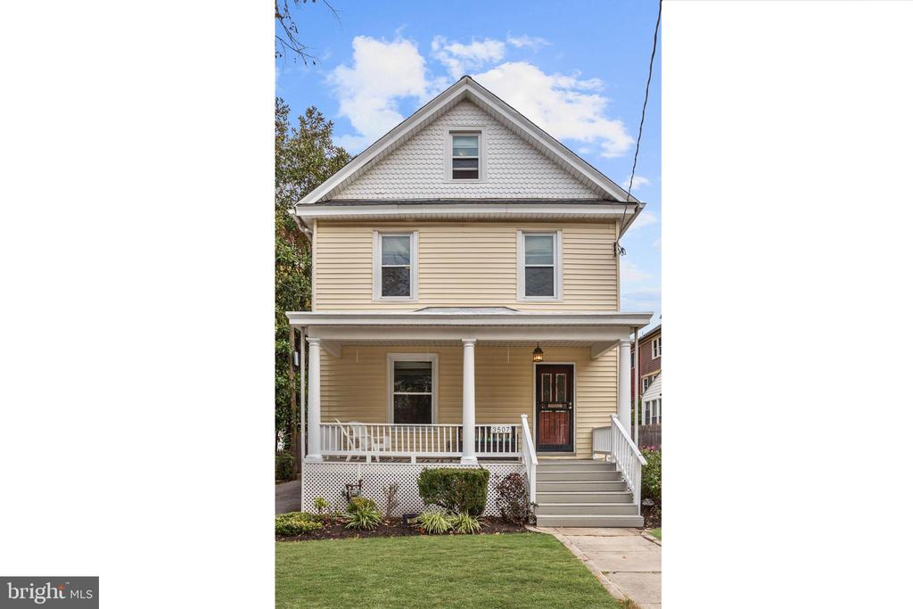 *DON'T MISS YOUR CHANCE TO SEE THIS HOME BEFORE IT GOES OFF THE MARKET!*  This spacious and character-filled 3 bedroom, 3 bath urban farmhouse is ideally located across the street from Brookland Metro and the DC landmarked Greek Revival mansion of Colonel Brooks, for whom Brookland is named.  Enjoy these unobstructed, peaceful views from the welcoming front porch of this 4-level home, which also features a fully fenced back yard, brand new roof (May 2019), long driveway, and newly renovated basement (2018) with separate entrance and bathroom - the perfect in-law/au pair suite!  Period details such as built-ins, millwork, and hardwood floors on both main and second levels (under the carpet) grace the interior spaces, which include a large foyer, updated kitchen with stainless steel appliances, dining room, and a master bedroom with attached dressing room.  The entire fourth level is a light-filled bonus room, which offers even more flex living space.  One of DC's most vibrant and growing neighborhoods, Brookland residents love the tree-lined streets and sense of community.  This home is at the heart of it all!